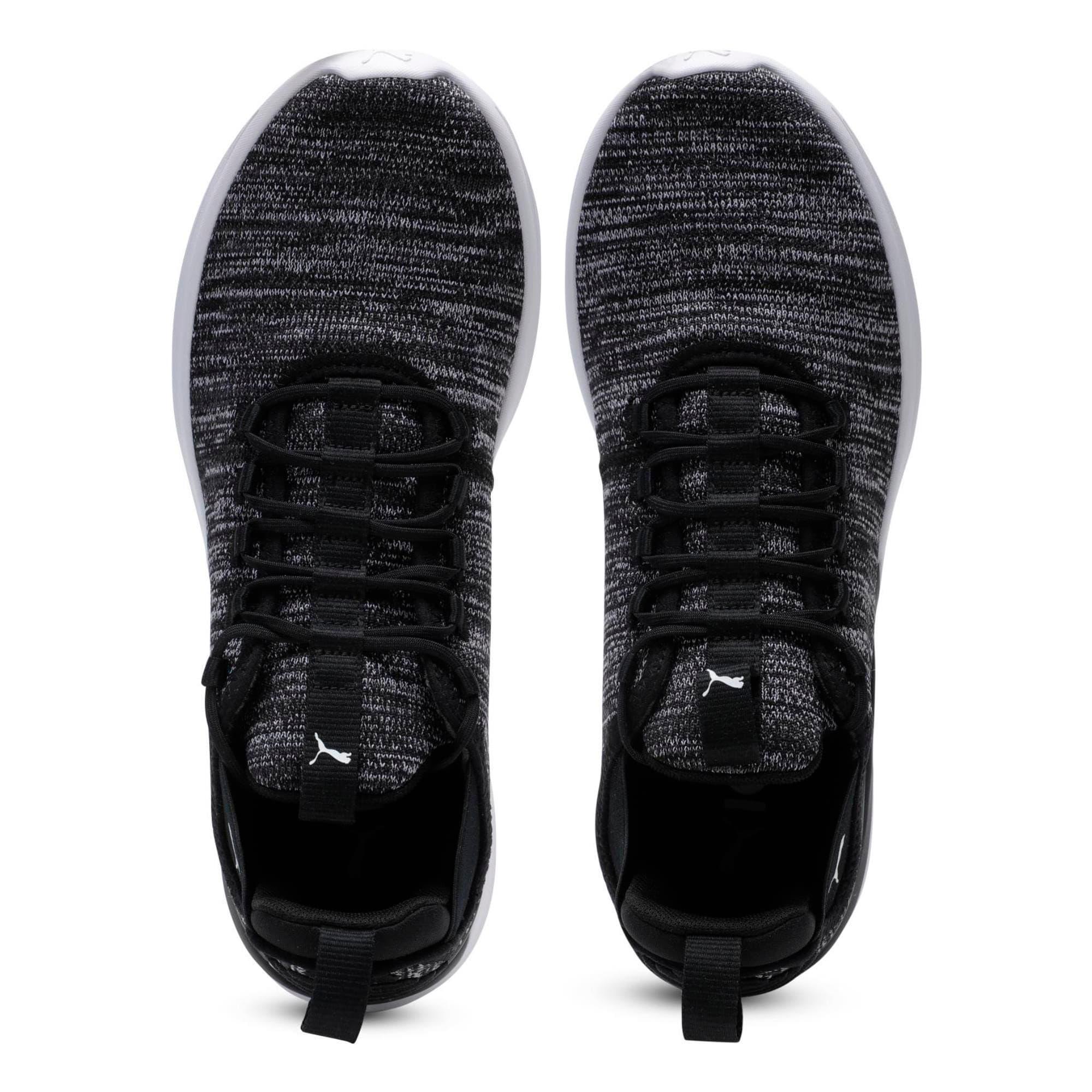 Thumbnail 6 of Flash Daunt Men's Running Shoes, Puma Black-Asphalt- White, medium-IND