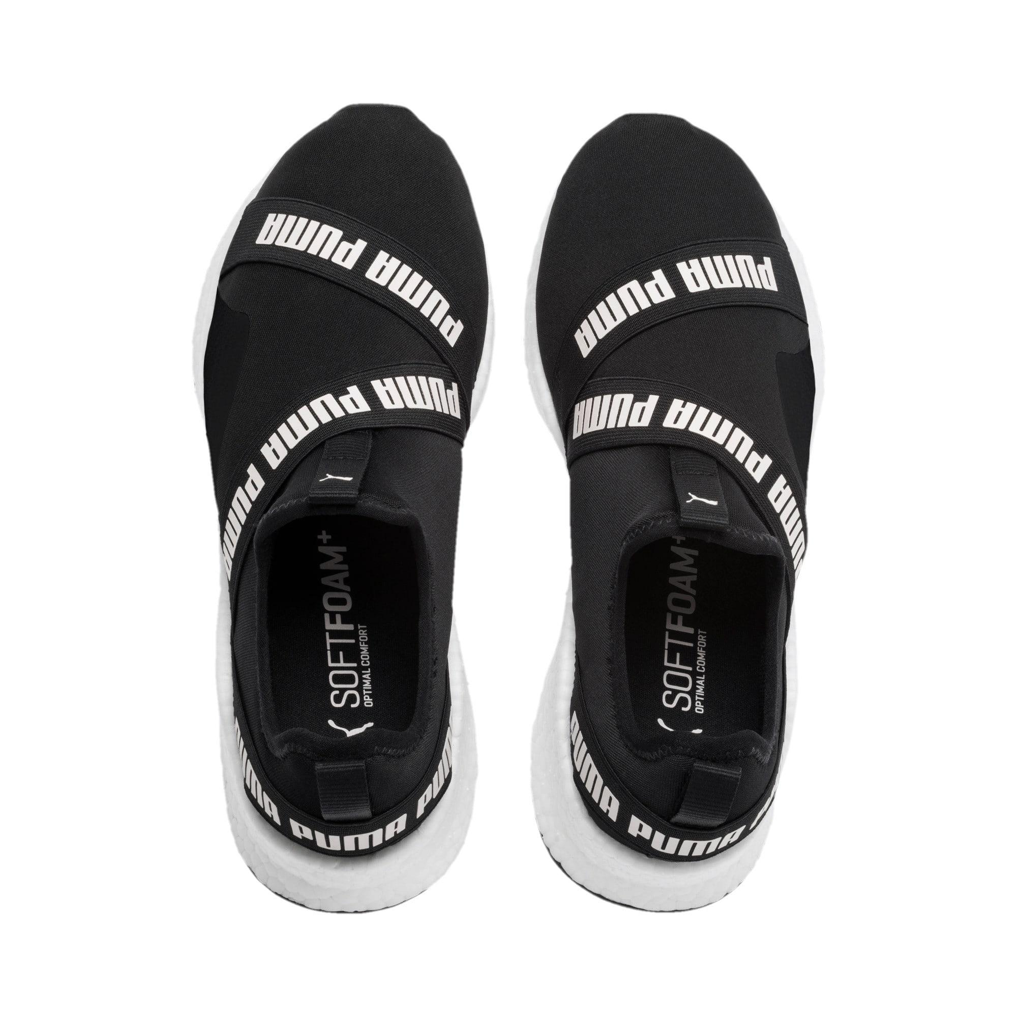 Thumbnail 7 of NRGY Star Slip-On Running Shoes, Black-Pearl-White, medium