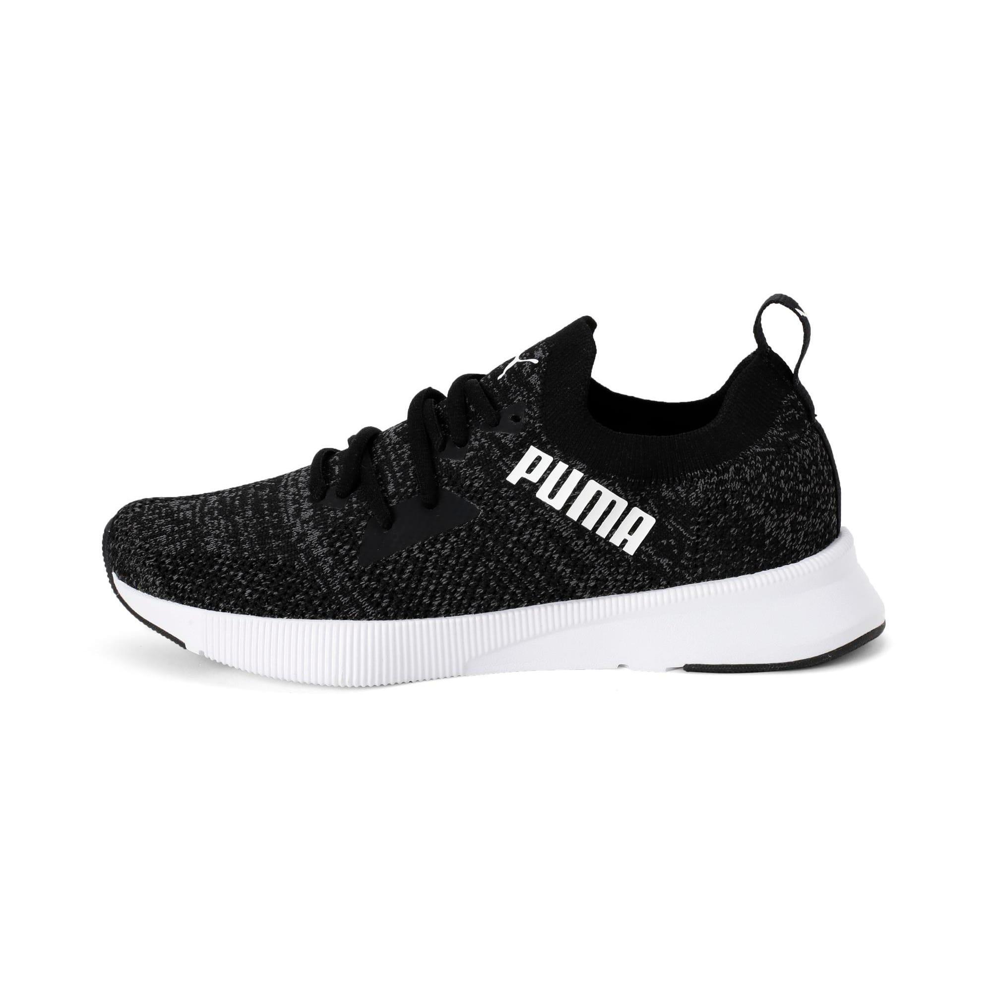 Thumbnail 1 of Flyer Women's Running Shoes, Puma Blk-Asphalt-Puma Wht, medium-IND