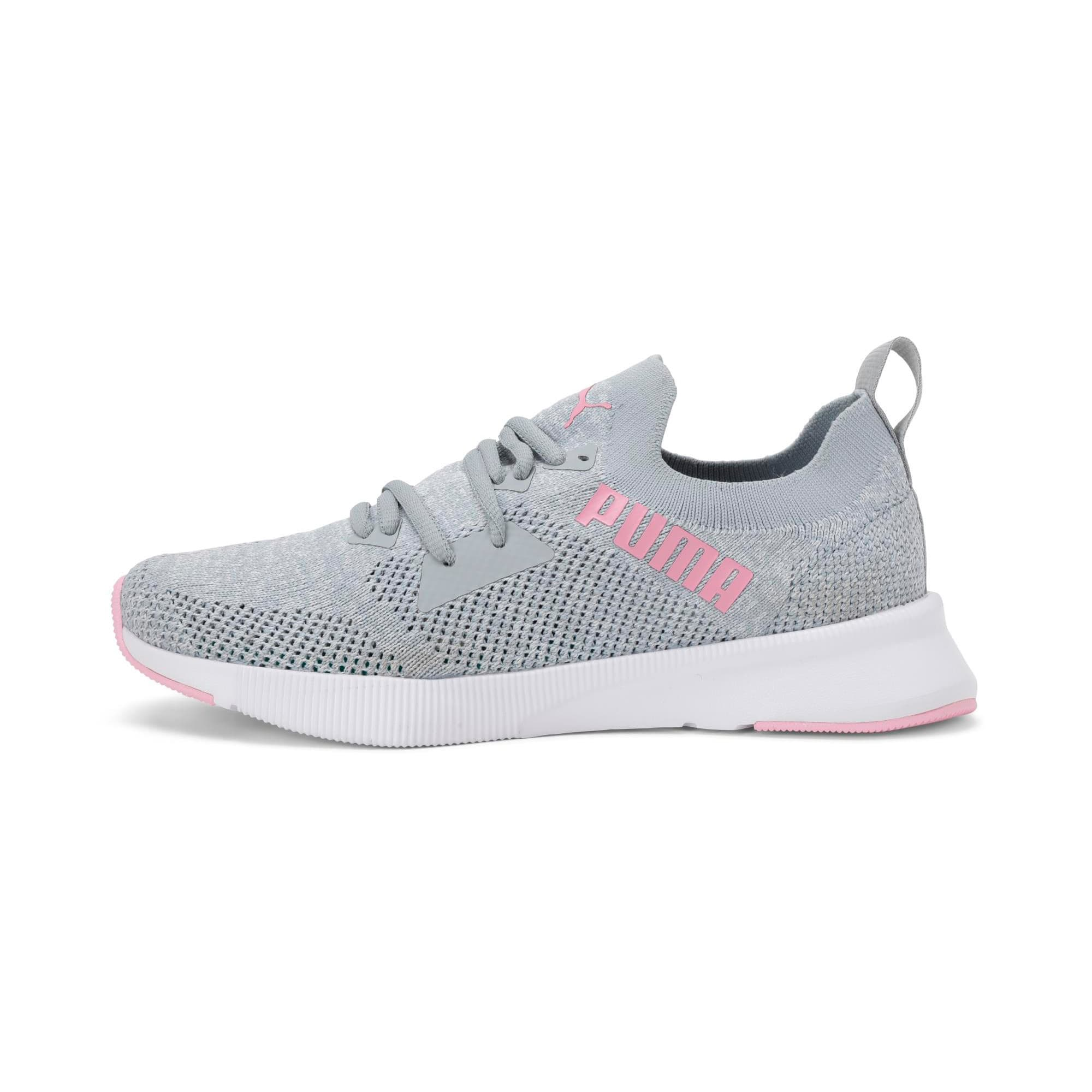 Thumbnail 1 of Flyer Women's Running Shoes, Quarry-Puma White, medium-IND