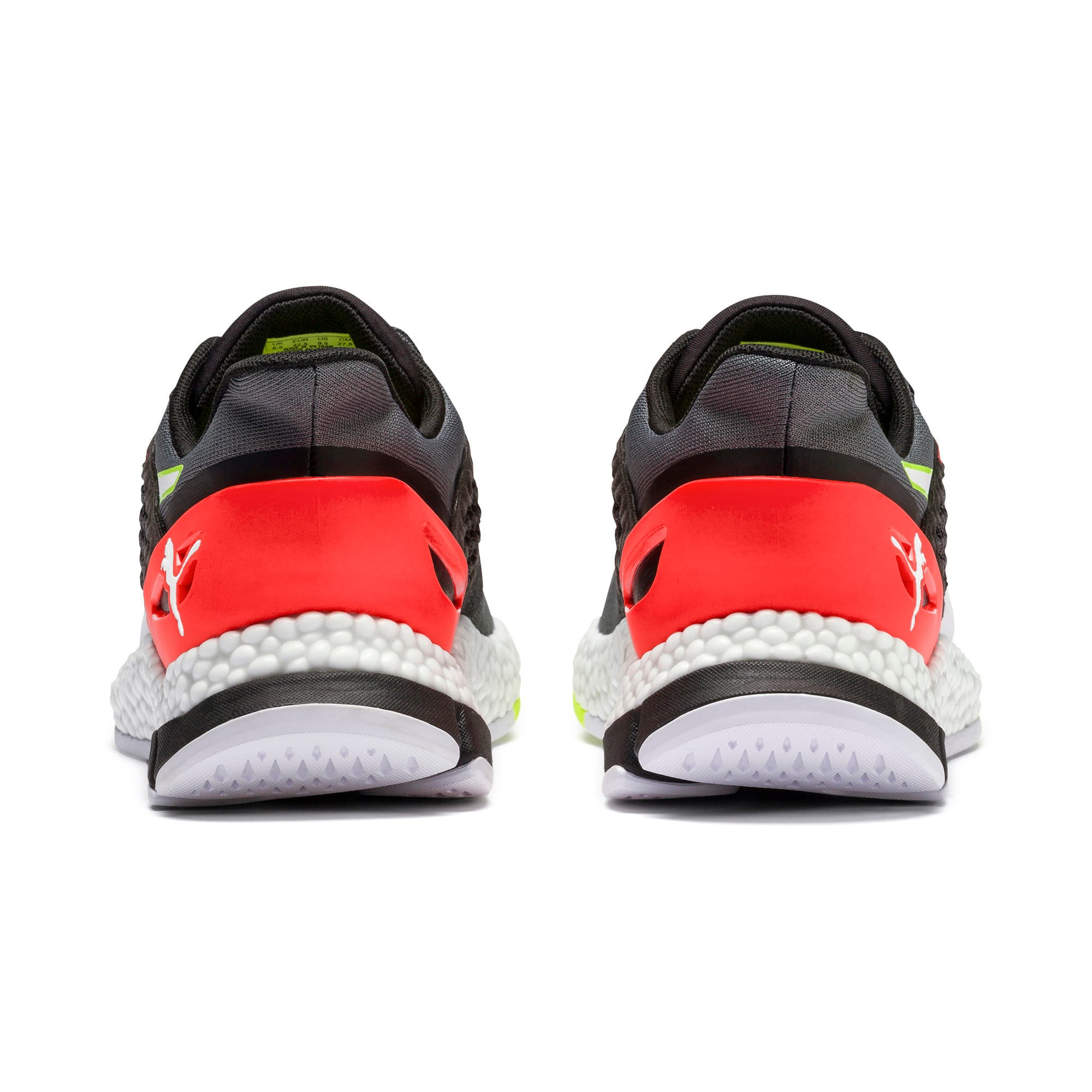 Thumbnail 4 of HYBRID NETFIT Astro Men's Running Shoes, CASTLEROCK-Puma Blck-Ngy Red, medium