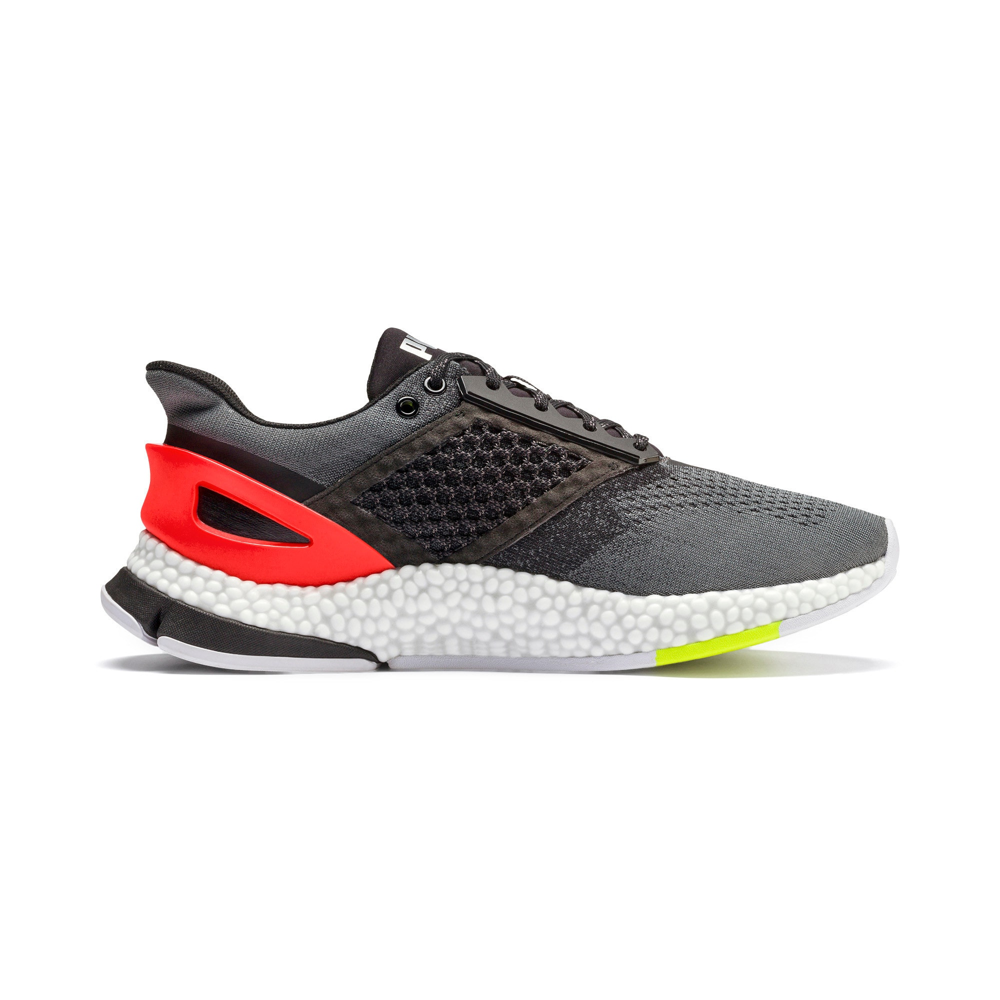 Thumbnail 7 of HYBRID NETFIT Astro Men's Running Shoes, CASTLEROCK-Puma Blck-Ngy Red, medium