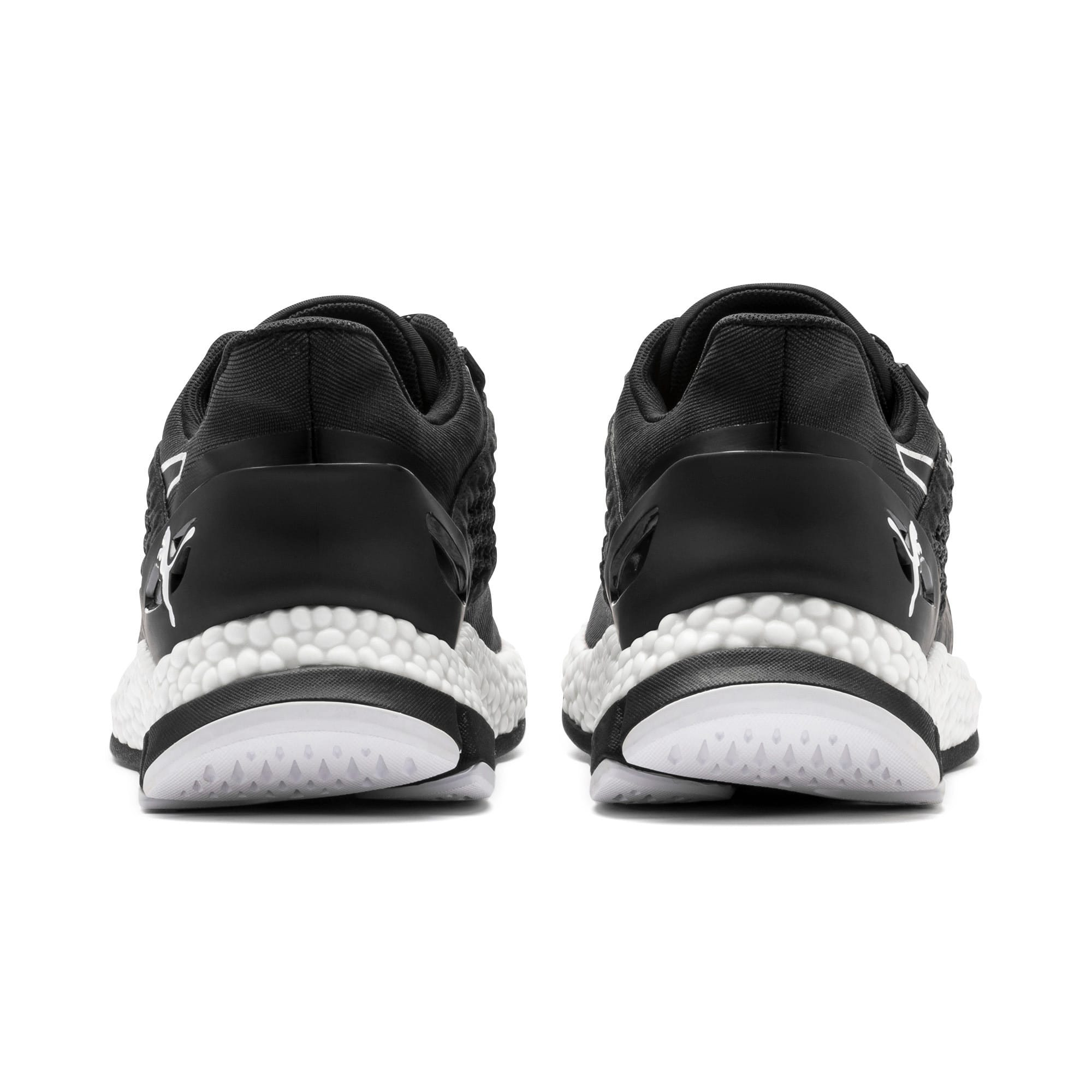 Thumbnail 4 of HYBRID NETFIT Astro Men's Running Shoes, Puma Black-Puma White, medium