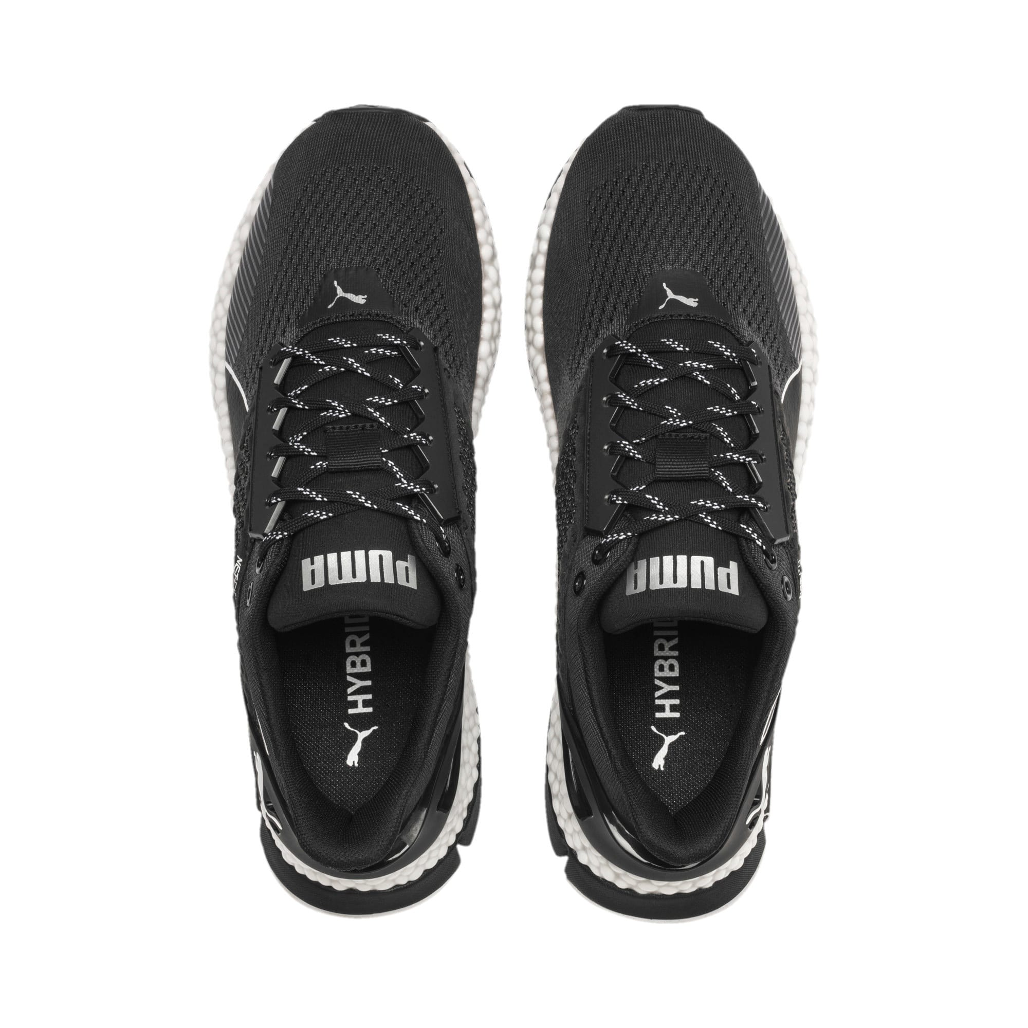 Thumbnail 8 of HYBRID NETFIT Astro Men's Running Shoes, Puma Black-Puma White, medium