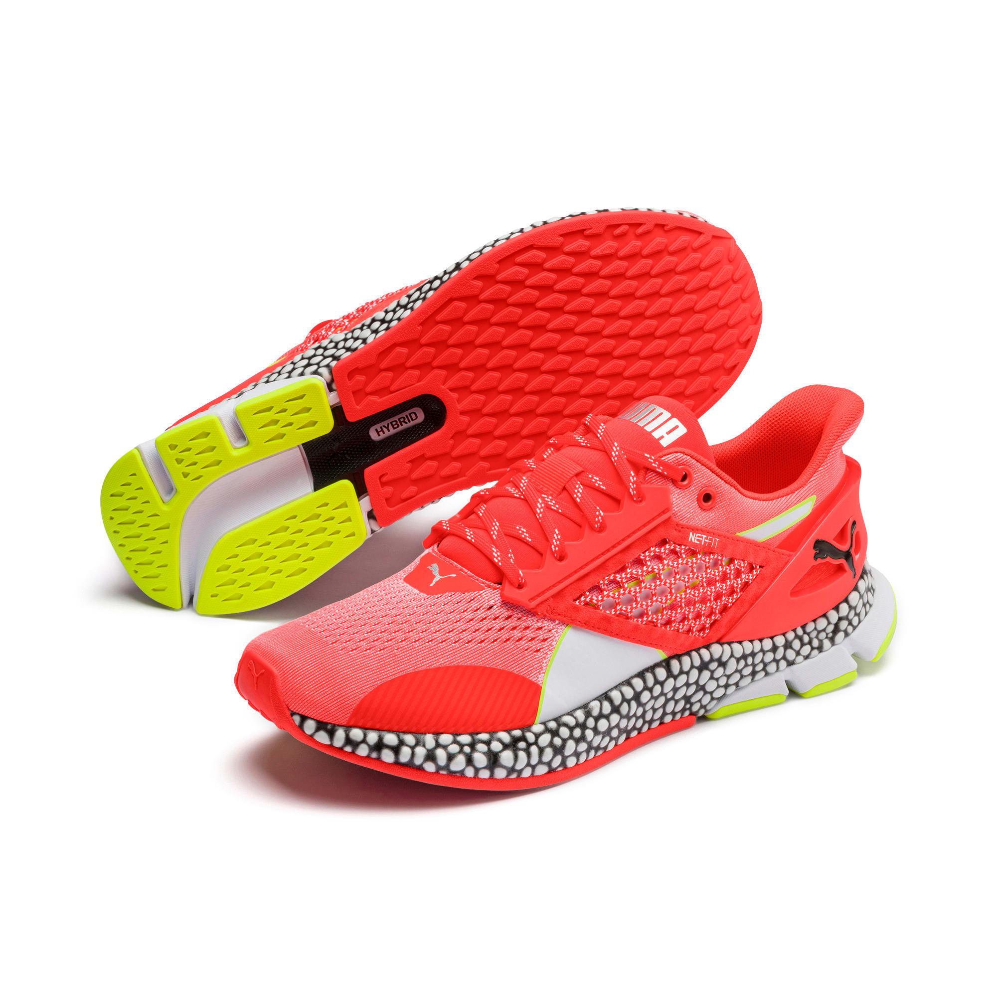 Thumbnail 2 of HYBRID Astro Men's Running Shoes, Nrgy Red-Puma Black, medium