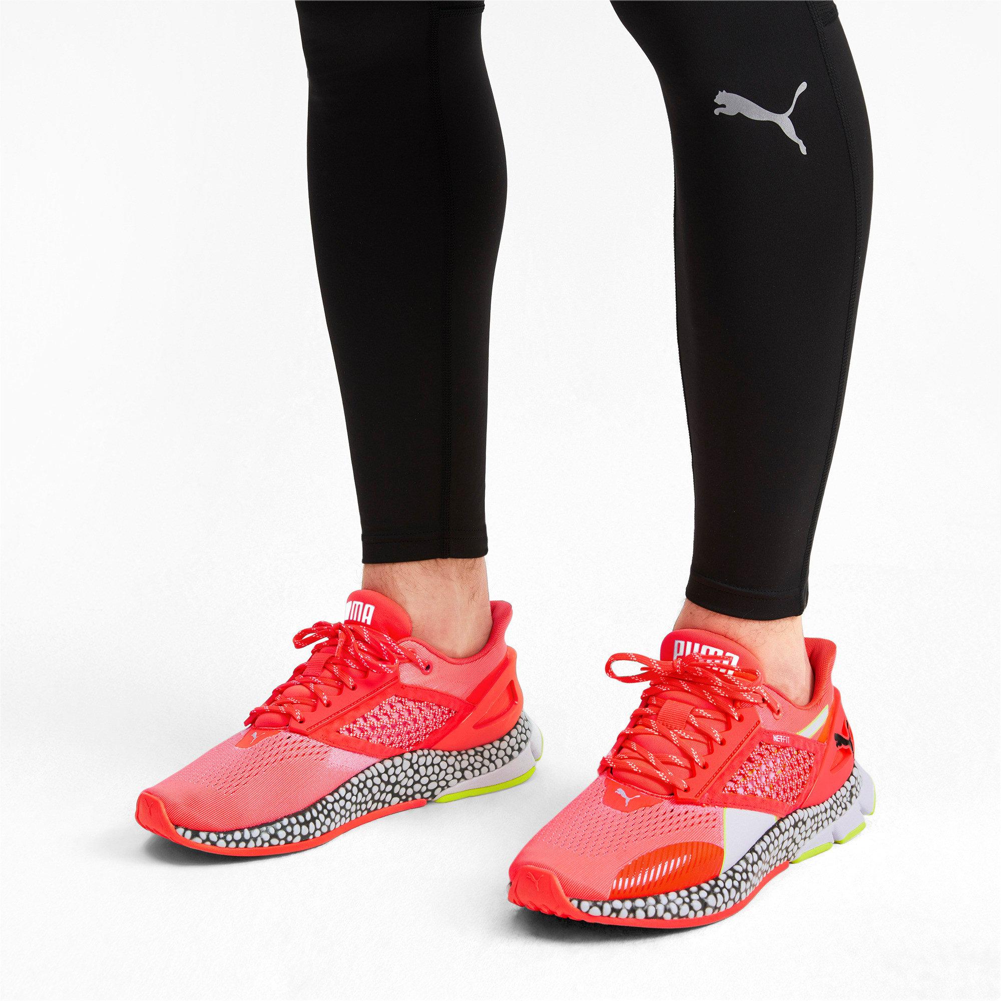 Thumbnail 3 of HYBRID Astro Men's Running Shoes, Nrgy Red-Puma Black, medium