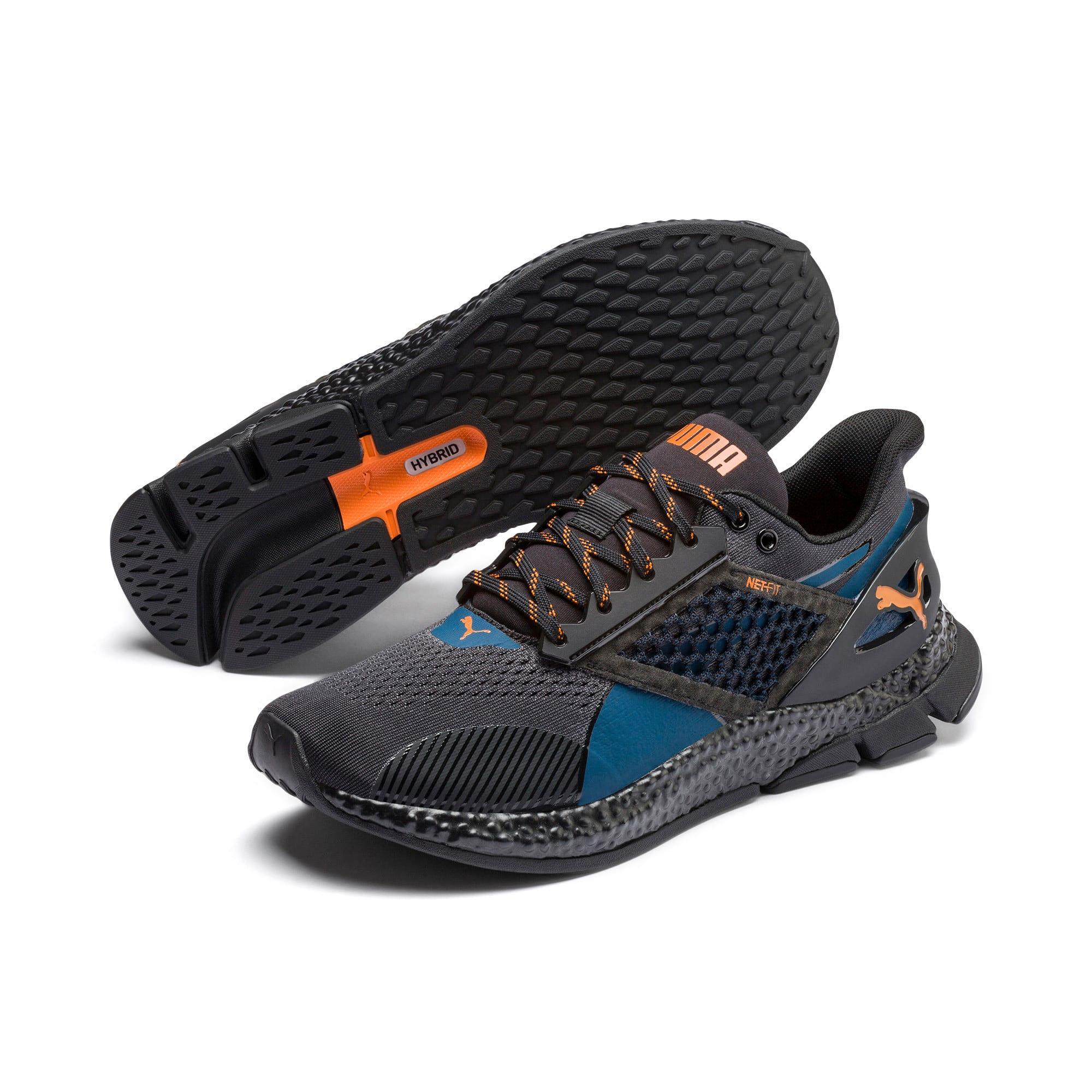 Imagen en miniatura 3 de Zapatillas de running de hombre HYBRID NETFIT Astro, Gibraltar Sea-Puma Black, mediana