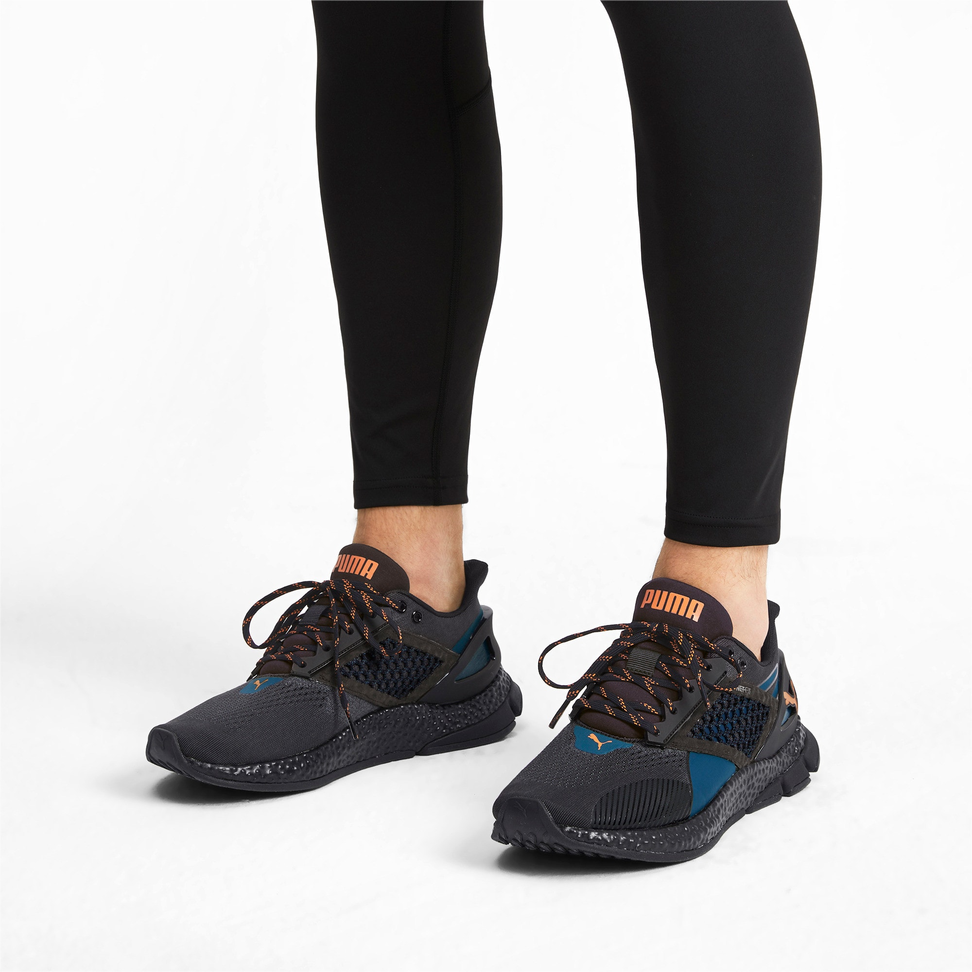 Imagen en miniatura 2 de Zapatillas de running de hombre HYBRID NETFIT Astro, Gibraltar Sea-Puma Black, mediana