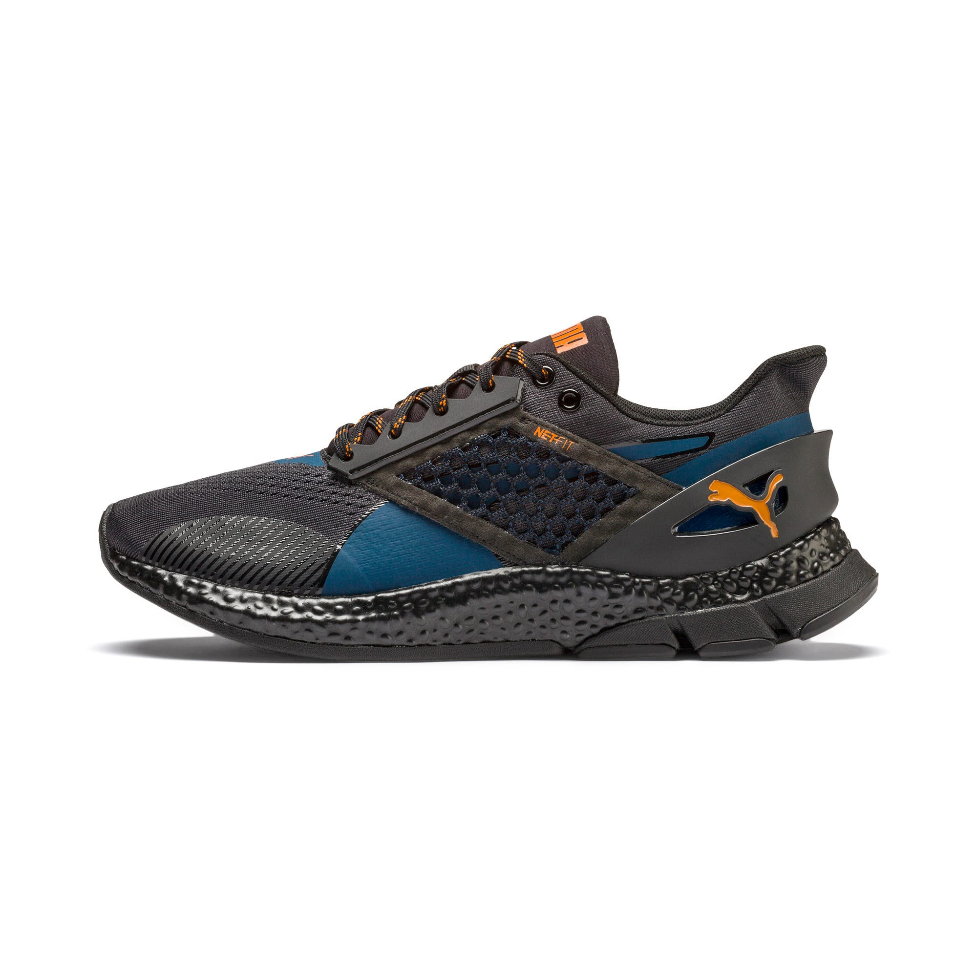 Thumbnail 1 of HYBRID NETFIT Astro Men's Running Shoes, Gibraltar Sea-Puma Black, medium
