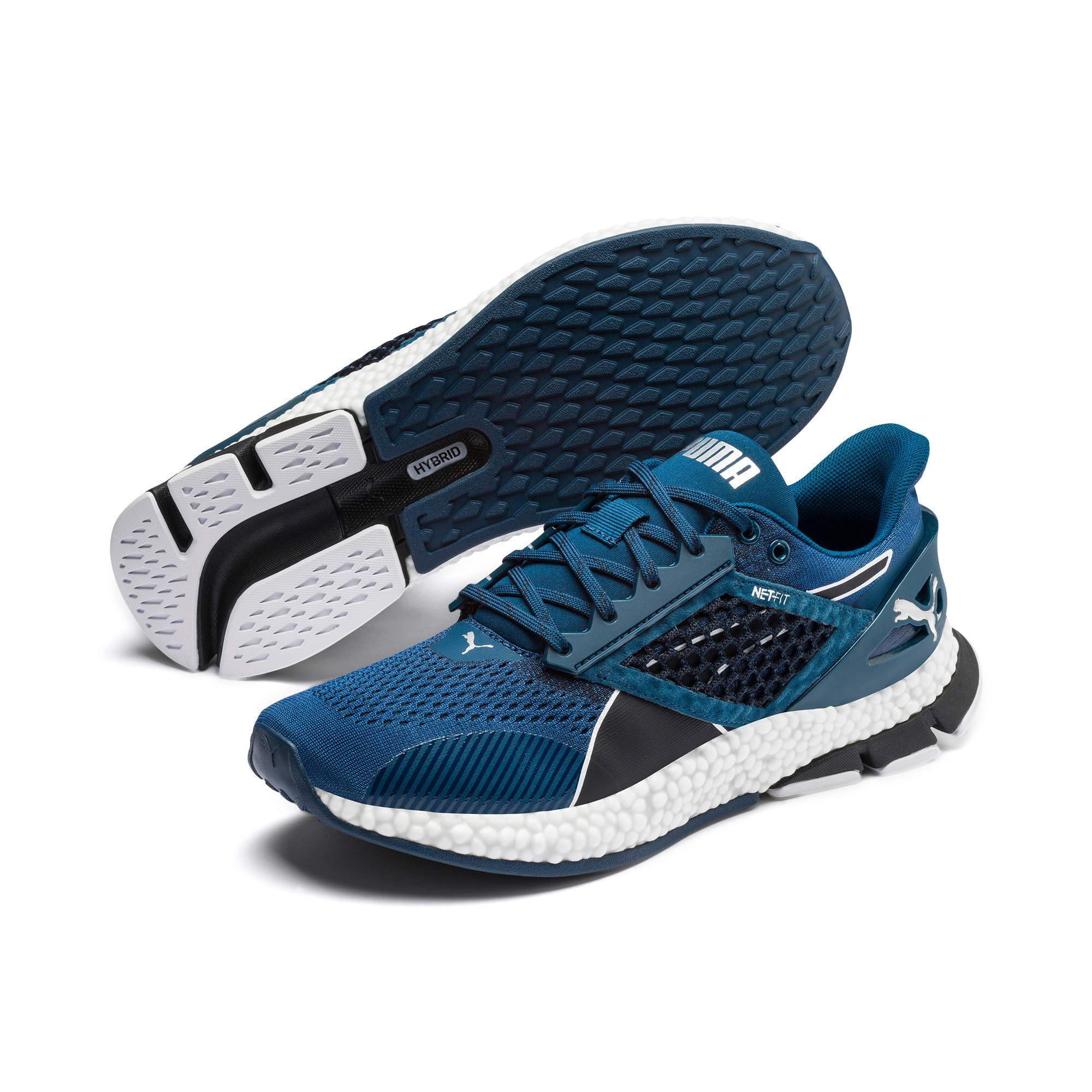 Thumbnail 2 of HYBRID Astro Men's Running Shoes, Black-Gibraltr Sea-Jaffa Org, medium