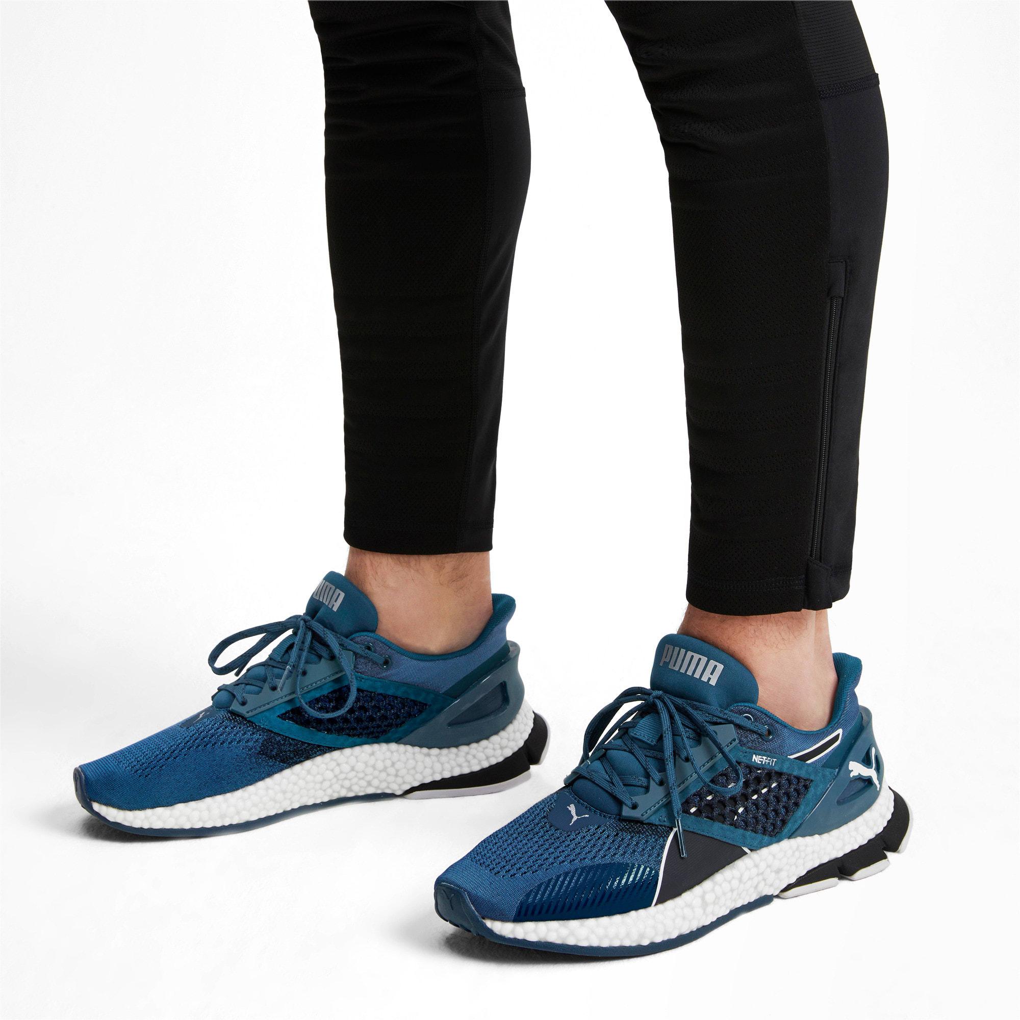 Thumbnail 3 of HYBRID Astro Men's Running Shoes, Black-Gibraltr Sea-Jaffa Org, medium
