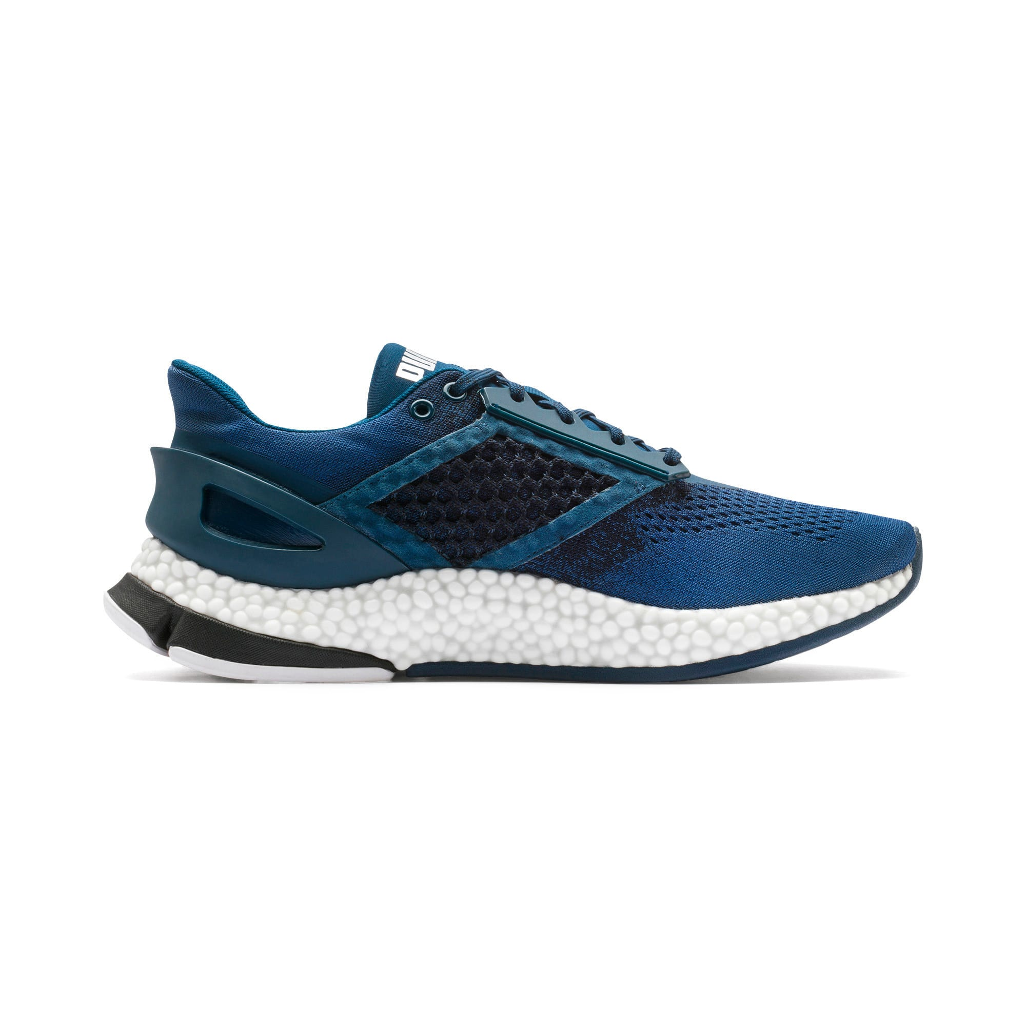 Thumbnail 7 of HYBRID Astro Men's Running Shoes, Black-Gibraltr Sea-Jaffa Org, medium
