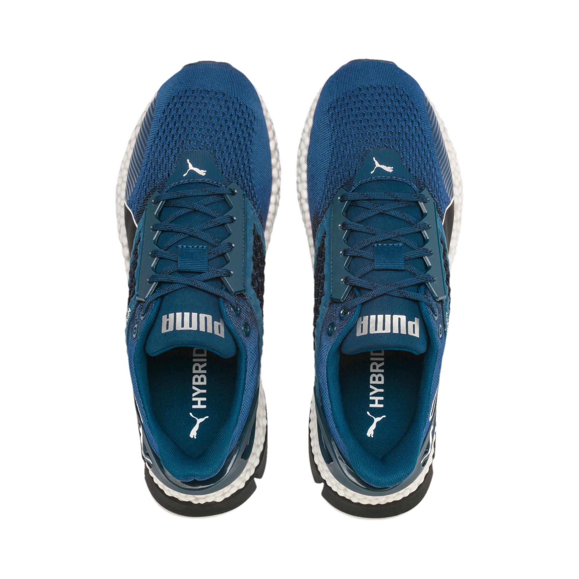 Thumbnail 8 of HYBRID Astro Men's Running Shoes, Black-Gibraltr Sea-Jaffa Org, medium