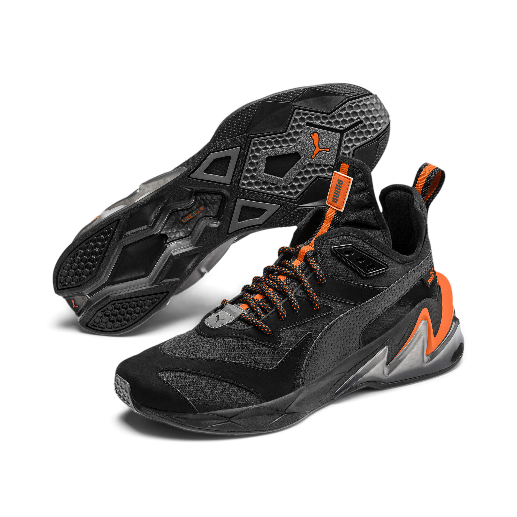 Thumbnail 3 of LQDCELL Origin Terrain Herren Trainingsschuhe, Puma Black-Jaffa Orange, medium