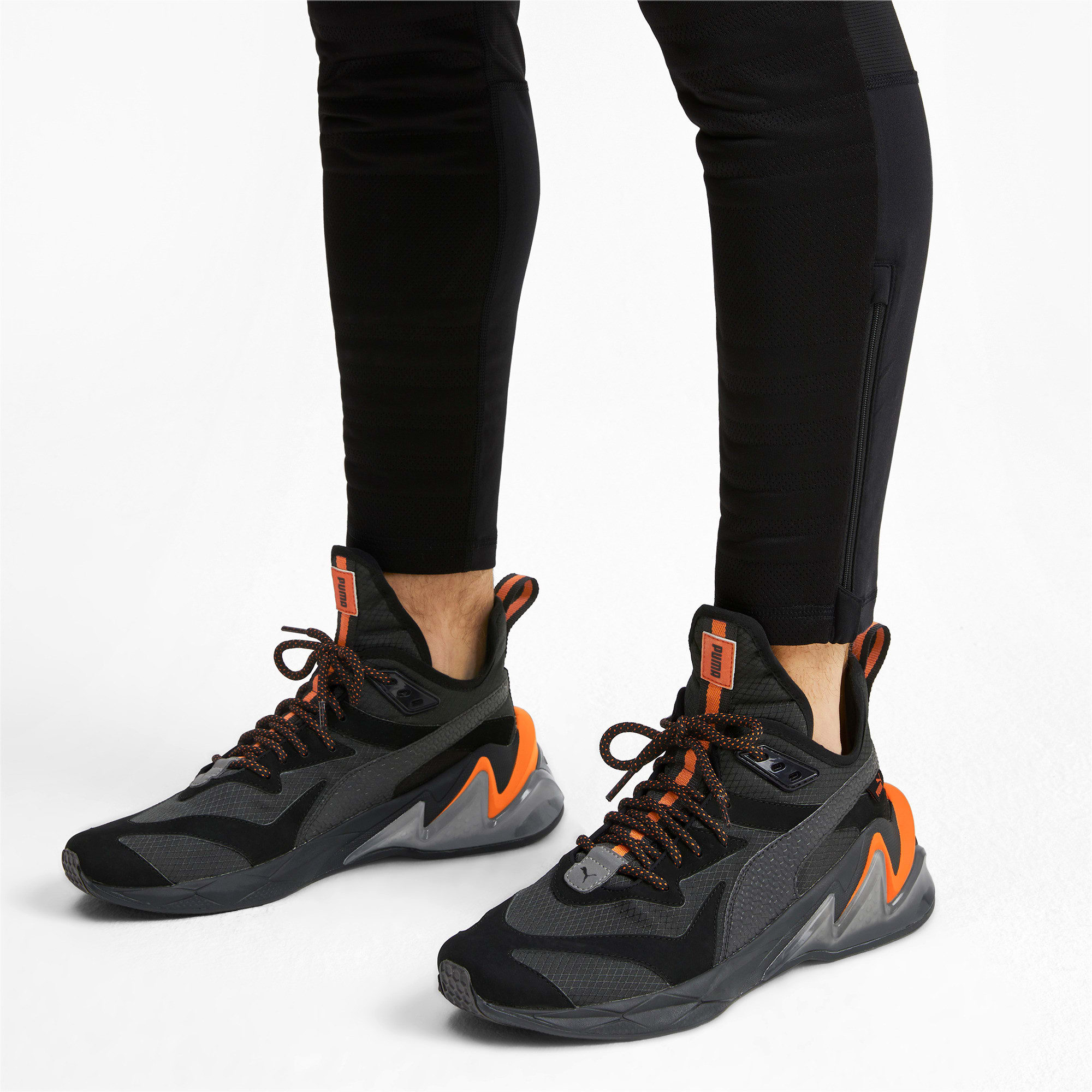 Thumbnail 2 of LQDCELL Origin Terrain Herren Trainingsschuhe, Puma Black-Jaffa Orange, medium