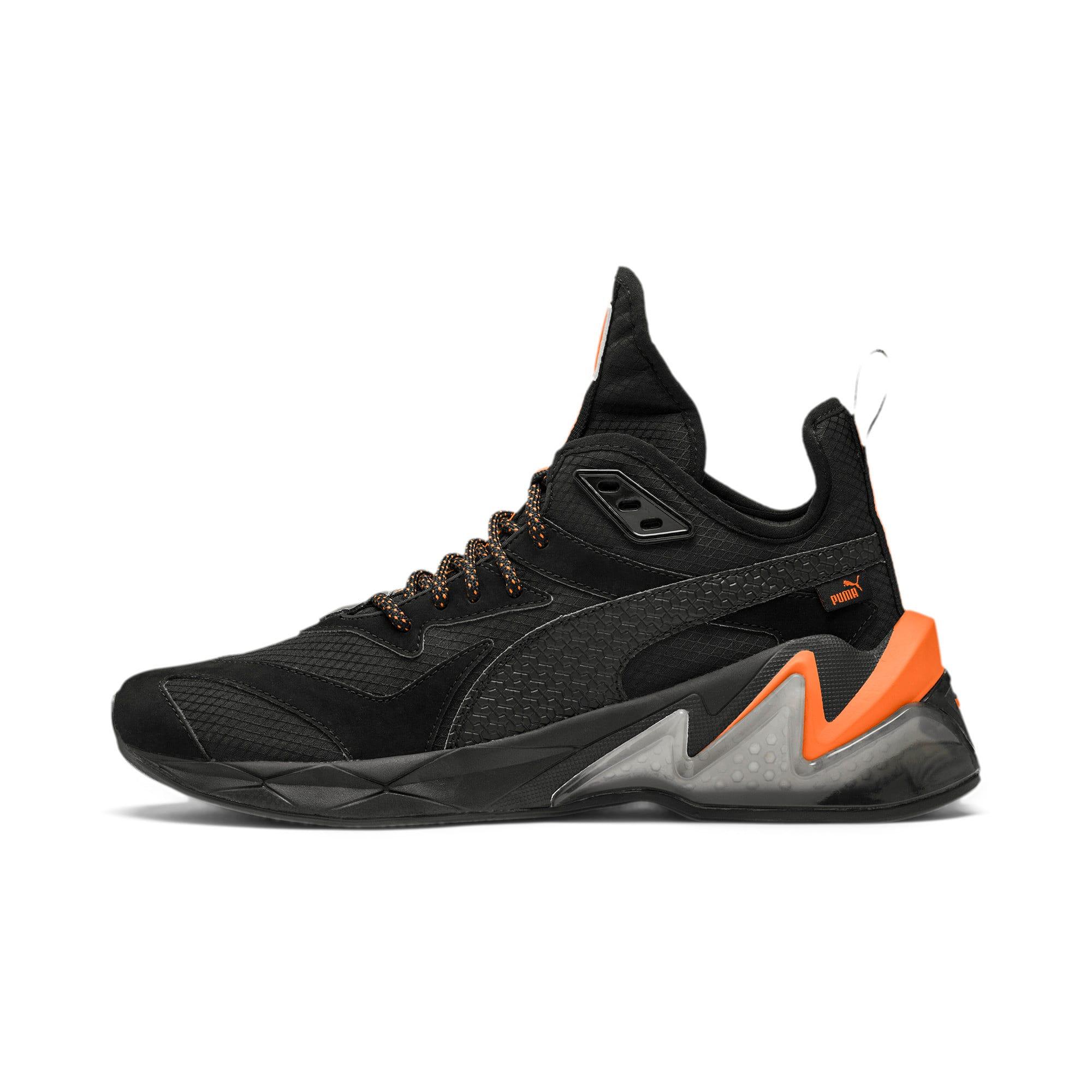 Thumbnail 1 of LQDCELL Origin Terrain Men's Training Shoes, Puma Black-Jaffa Orange, medium