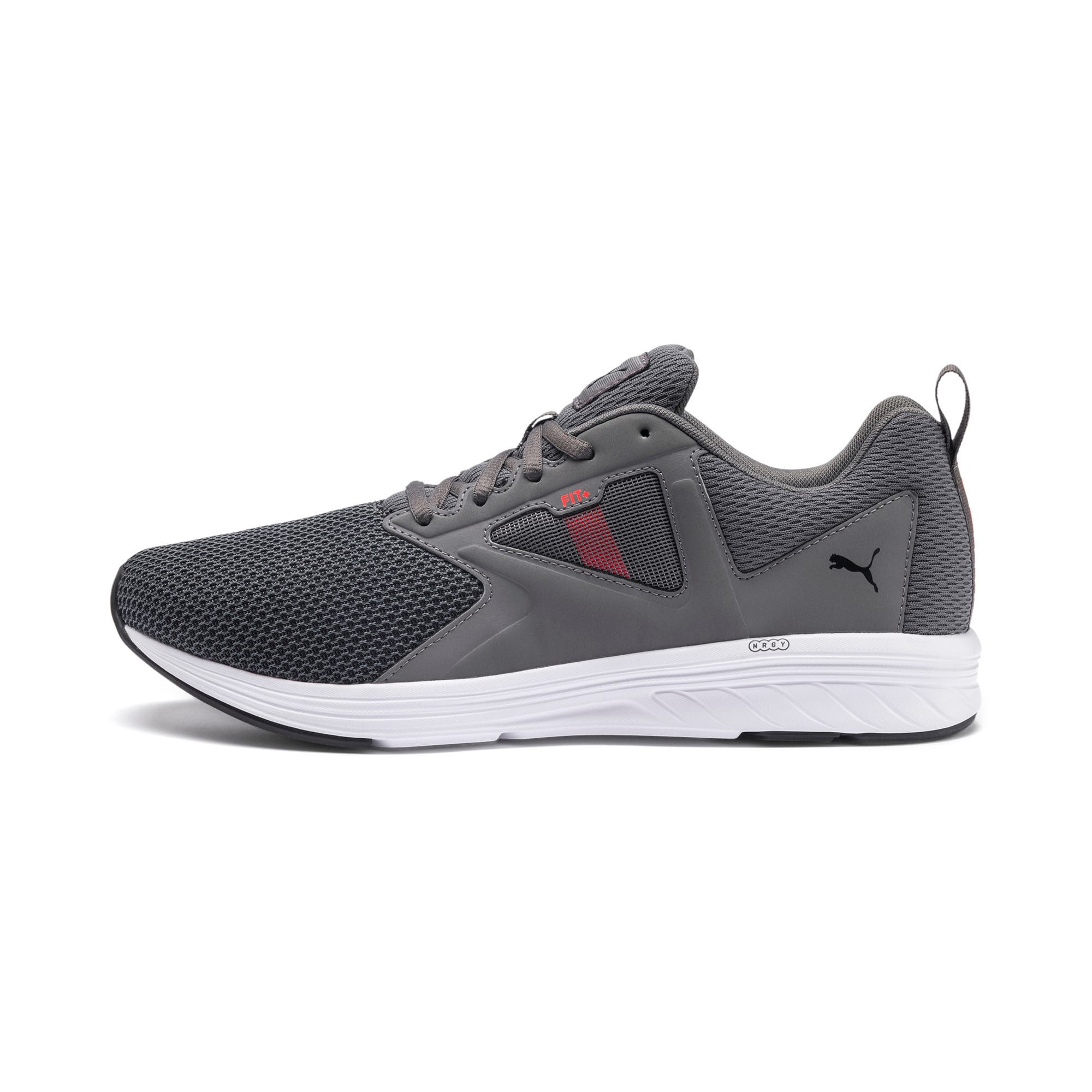 Thumbnail 1 of NRGY Asteroid Running Shoes, CASTLEROCK-Puma White, medium-IND