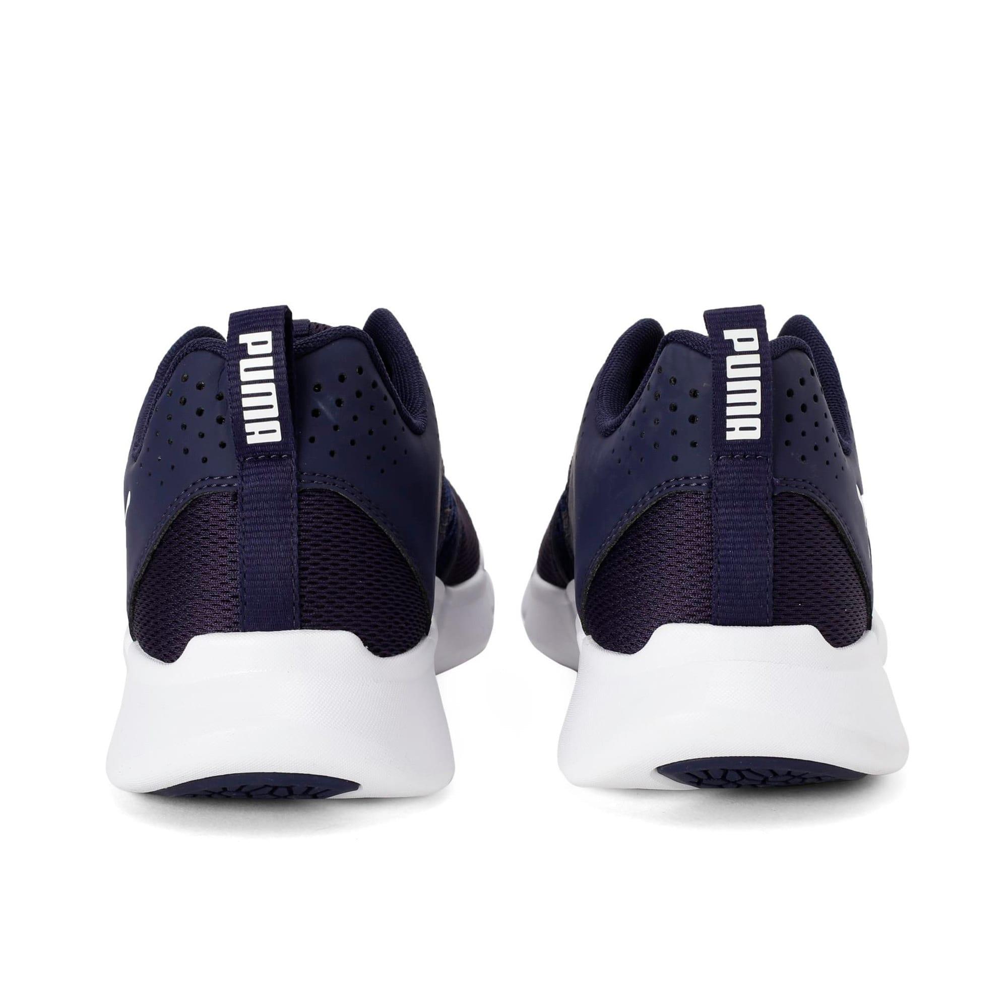 Thumbnail 4 of INTERFLEX Modern Running Shoes, Peacoat-Puma White, medium-IND