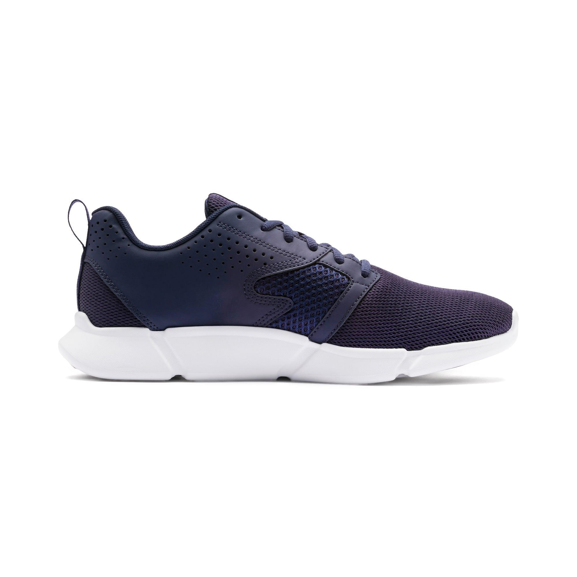 Thumbnail 7 of INTERFLEX Modern Running Shoes, Peacoat-Puma White, medium-IND