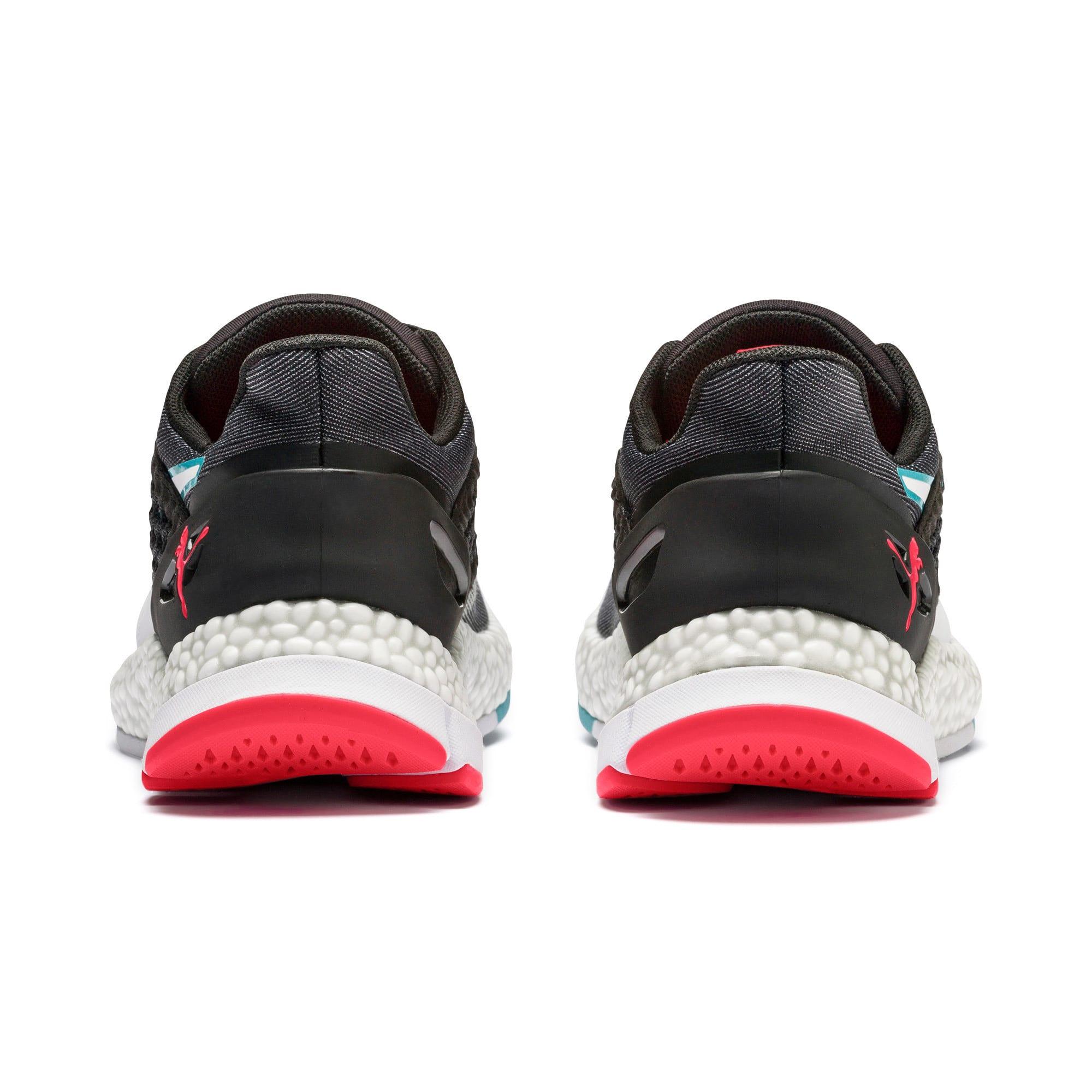 Thumbnail 5 of HYBRID NETFIT Astro Women's Running Shoes, Puma Black-Pink Alert, medium-IND