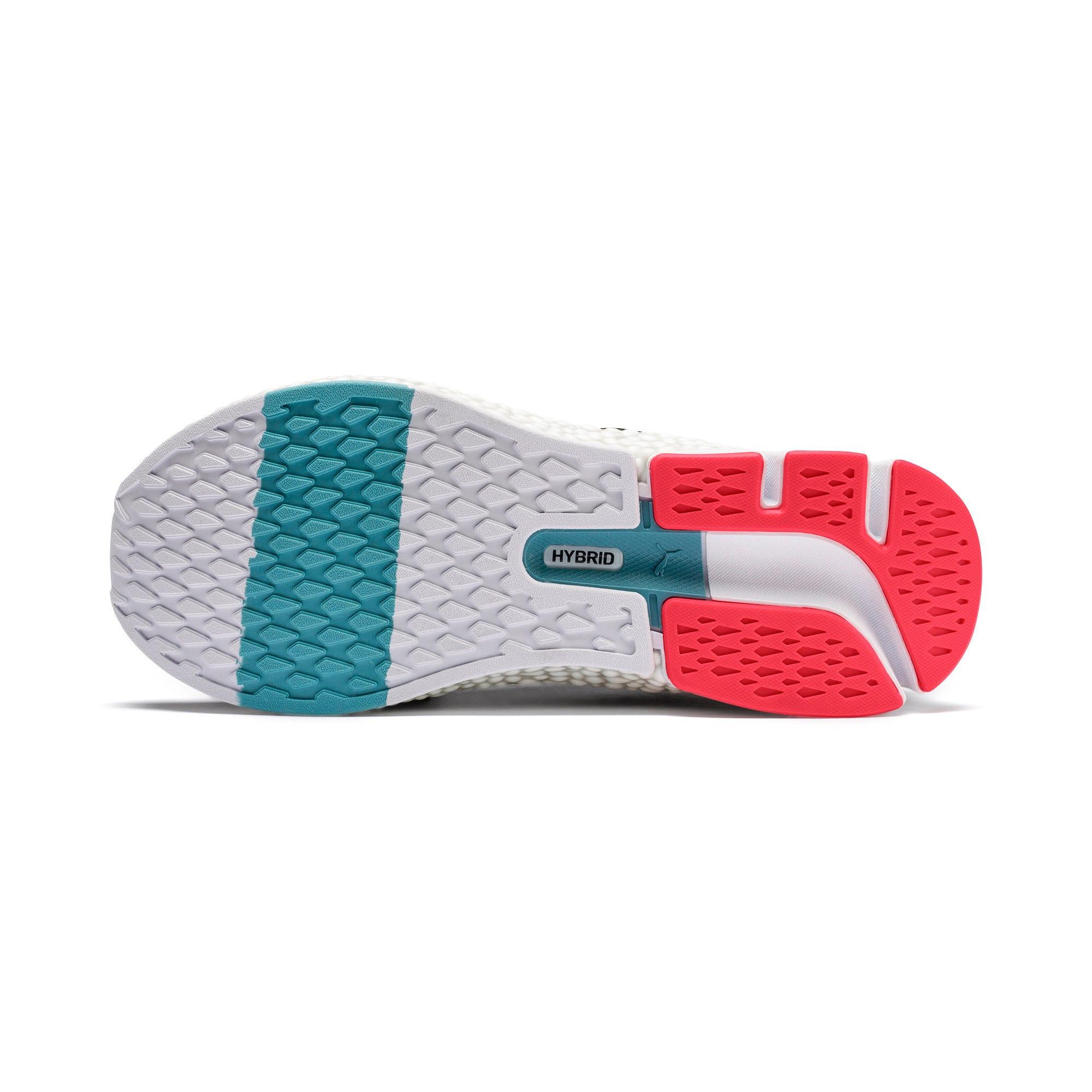 Thumbnail 8 of HYBRID NETFIT Astro Women's Running Shoes, Puma Black-Pink Alert, medium-IND