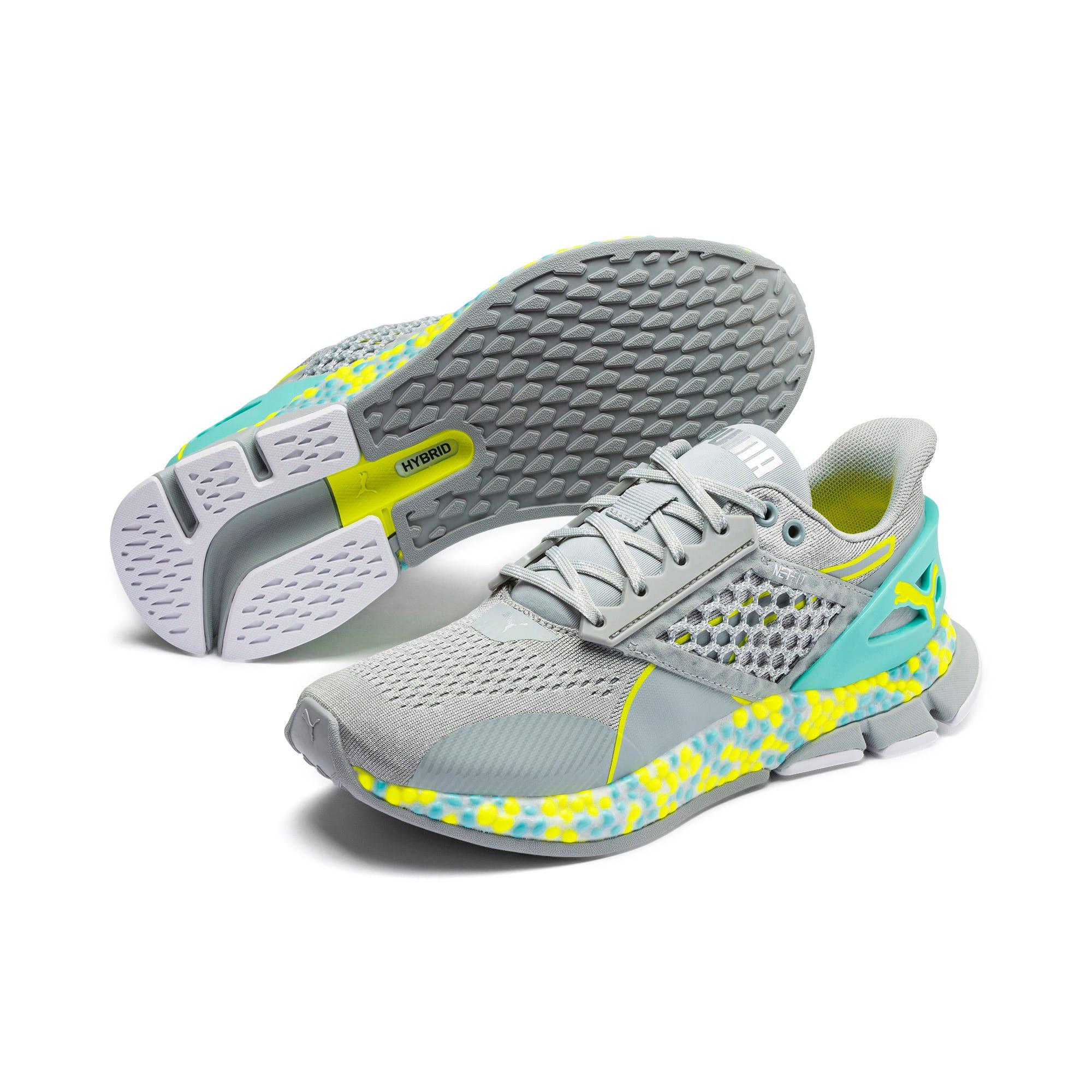 Thumbnail 2 of HYBRID Astro Women's Running Shoes, Quarry-Yellow Alert, medium