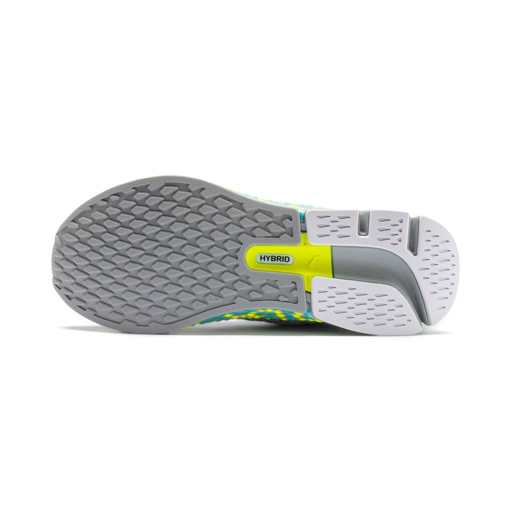 Thumbnail 4 of HYBRID Astro Women's Running Shoes, Quarry-Yellow Alert, medium