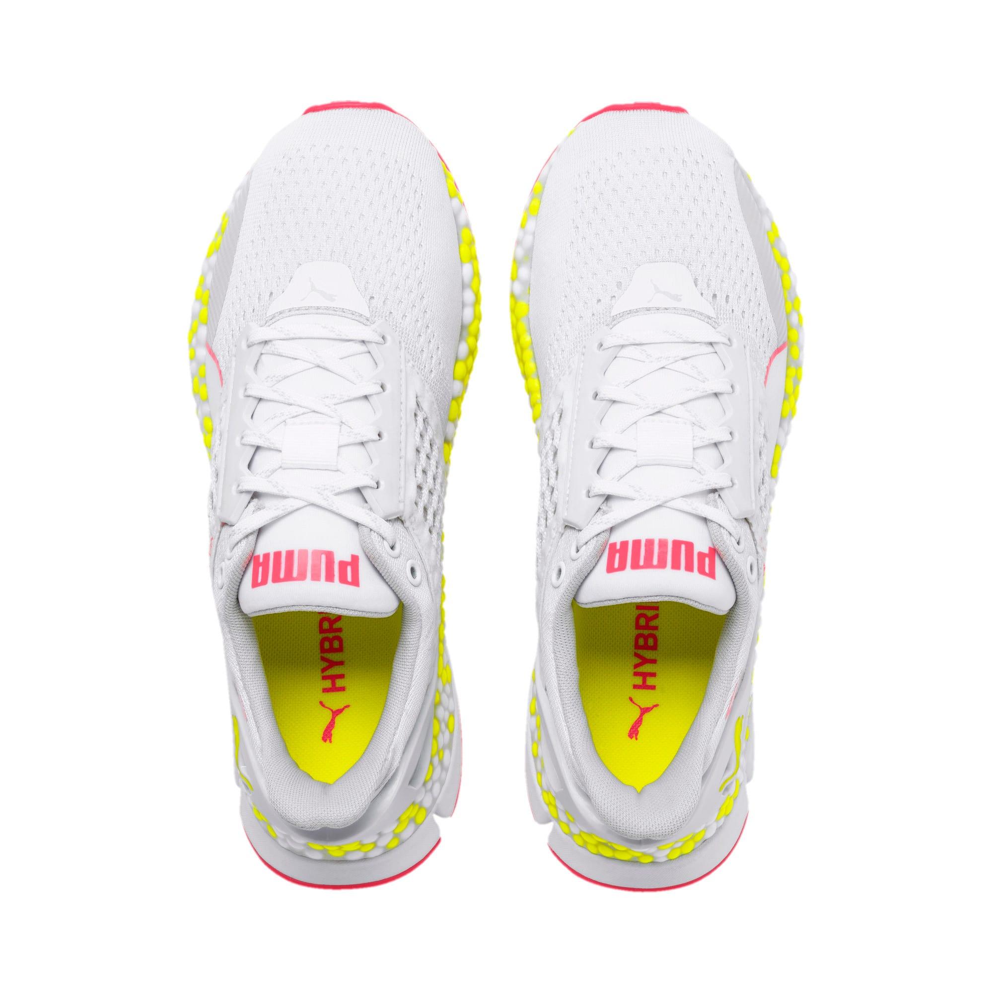 Thumbnail 9 of Scarpe Running HYBRID NETFIT Astro donna, White-Yellow Alert-Pnk Alert, medium
