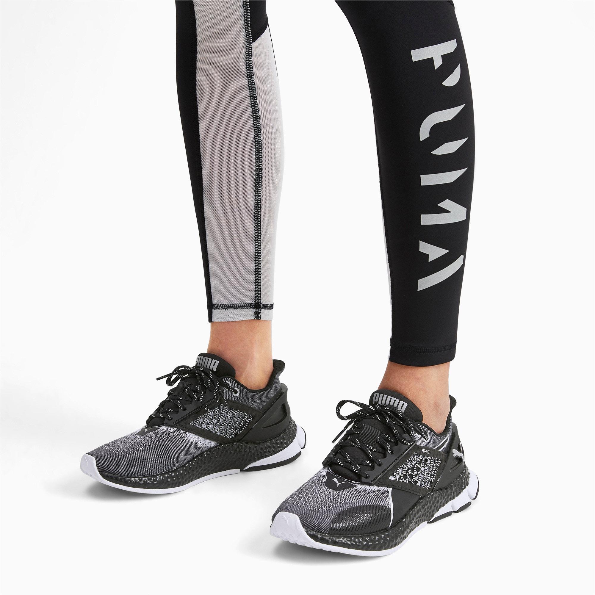 Thumbnail 2 of HYBRID NETFIT Astro Women's Running Shoes, Puma Black, medium