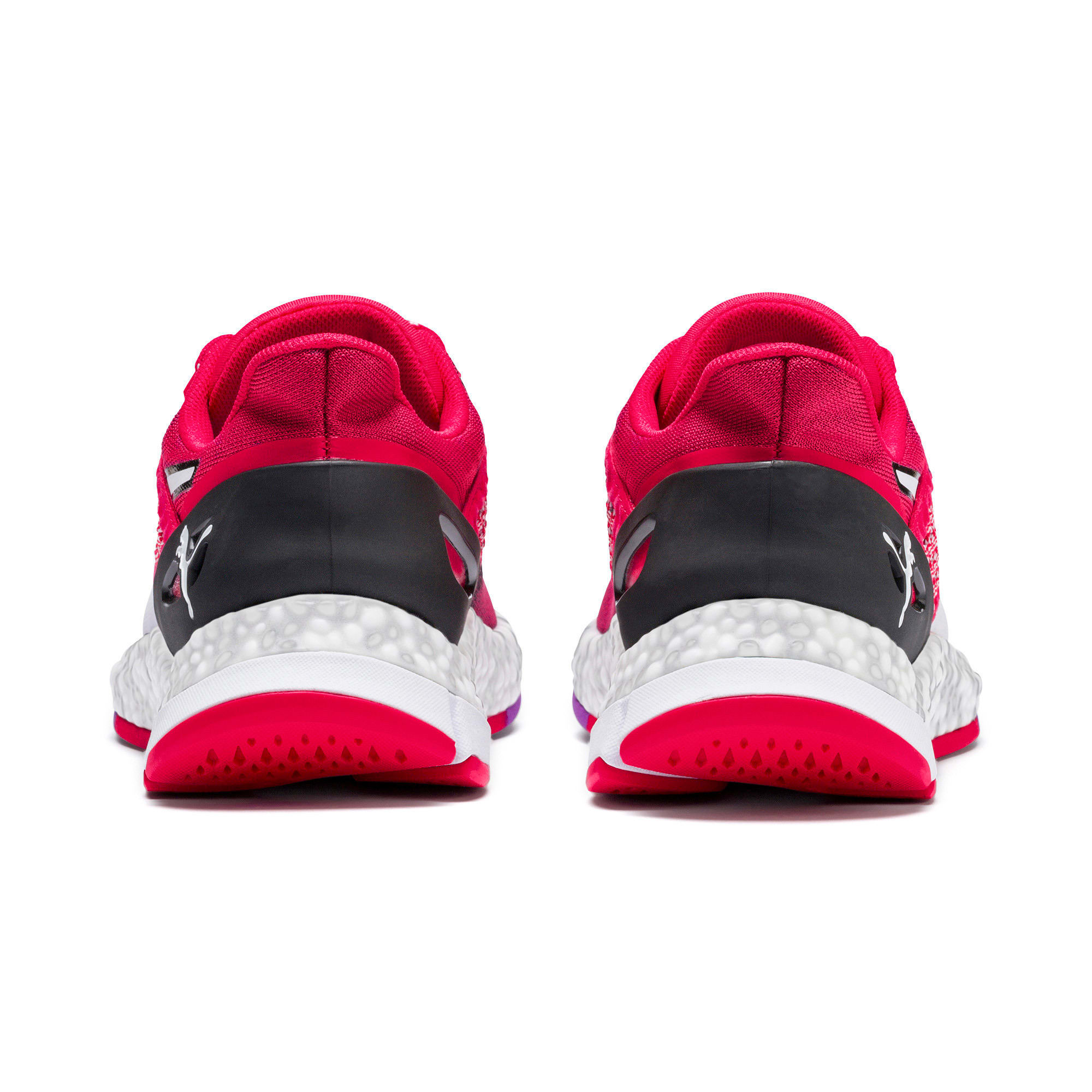 Thumbnail 4 of HYBRID NETFIT Astro Women's Running Shoes, Nrgy Rose-Puma Black, medium