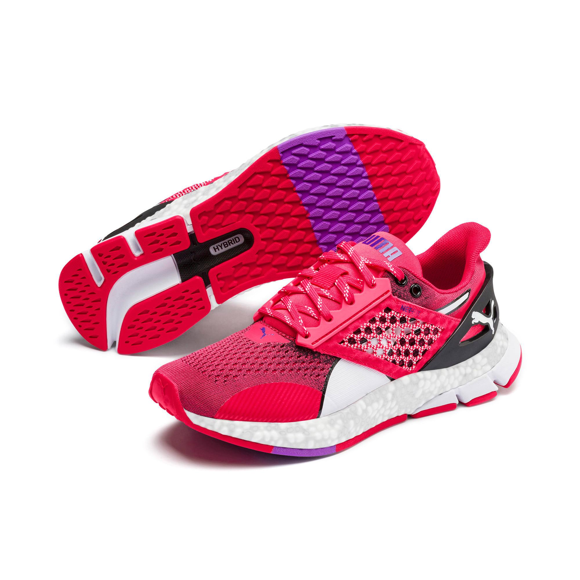 Thumbnail 3 of HYBRID NETFIT Astro Women's Running Shoes, Nrgy Rose-Puma Black, medium