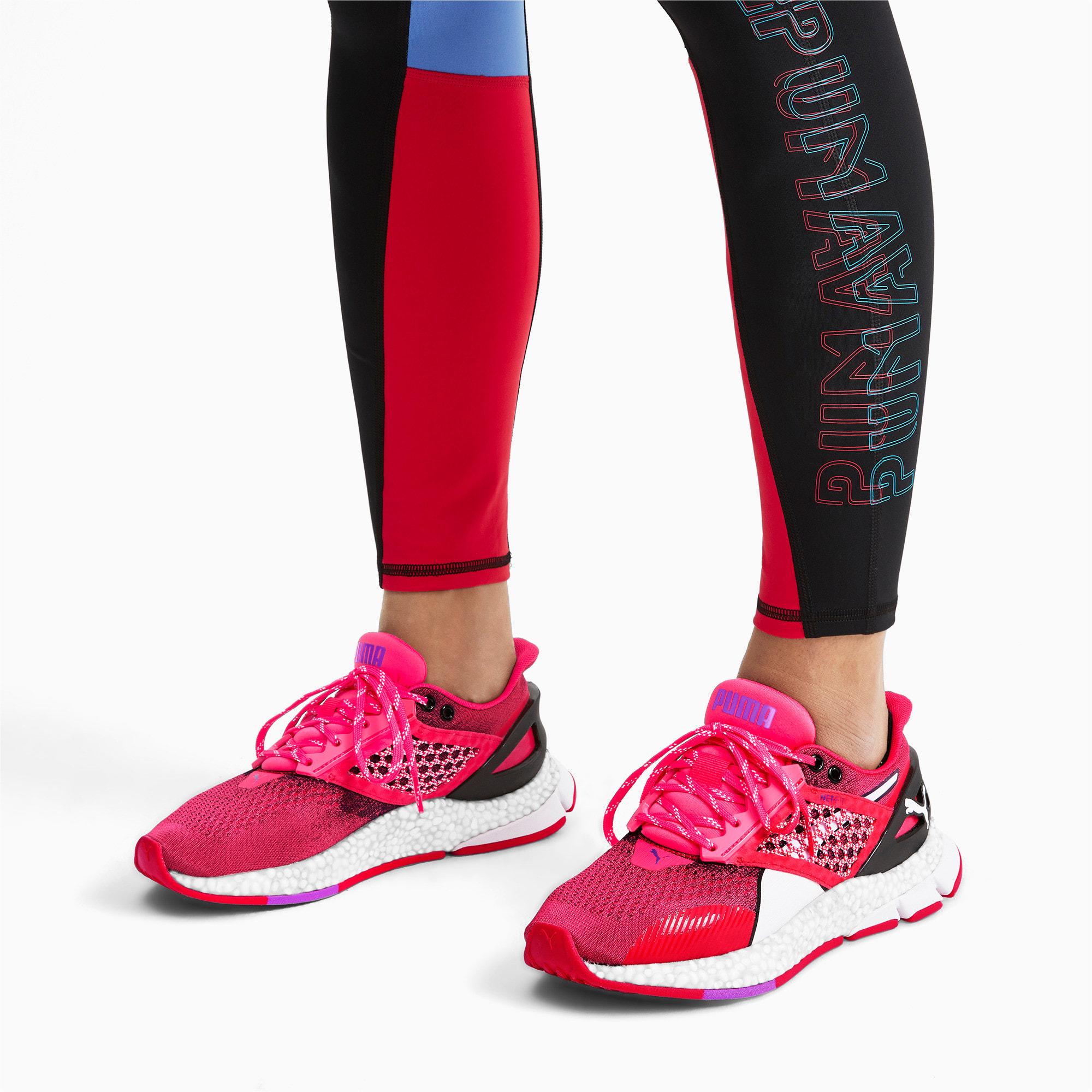 Thumbnail 2 of HYBRID NETFIT Astro Women's Running Shoes, Nrgy Rose-Puma Black, medium