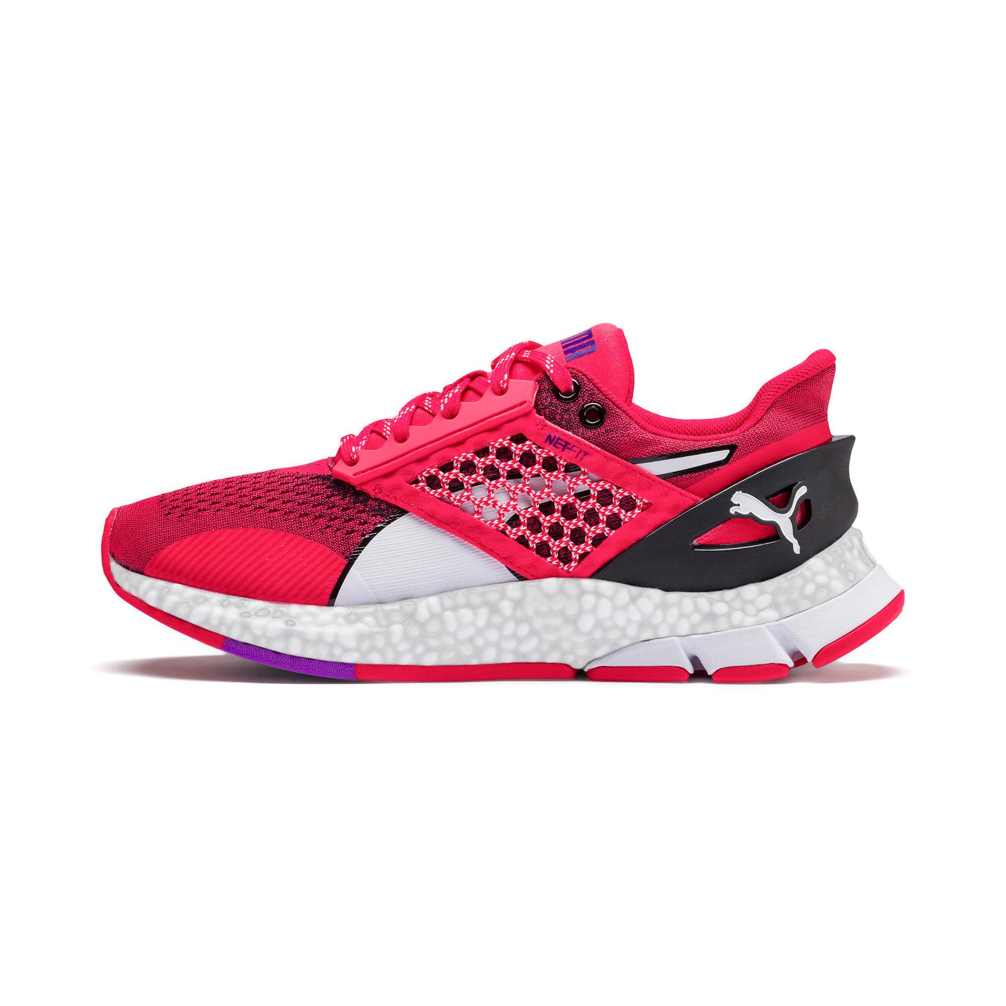 Thumbnail 1 of HYBRID NETFIT Astro Women's Running Shoes, Nrgy Rose-Puma Black, medium