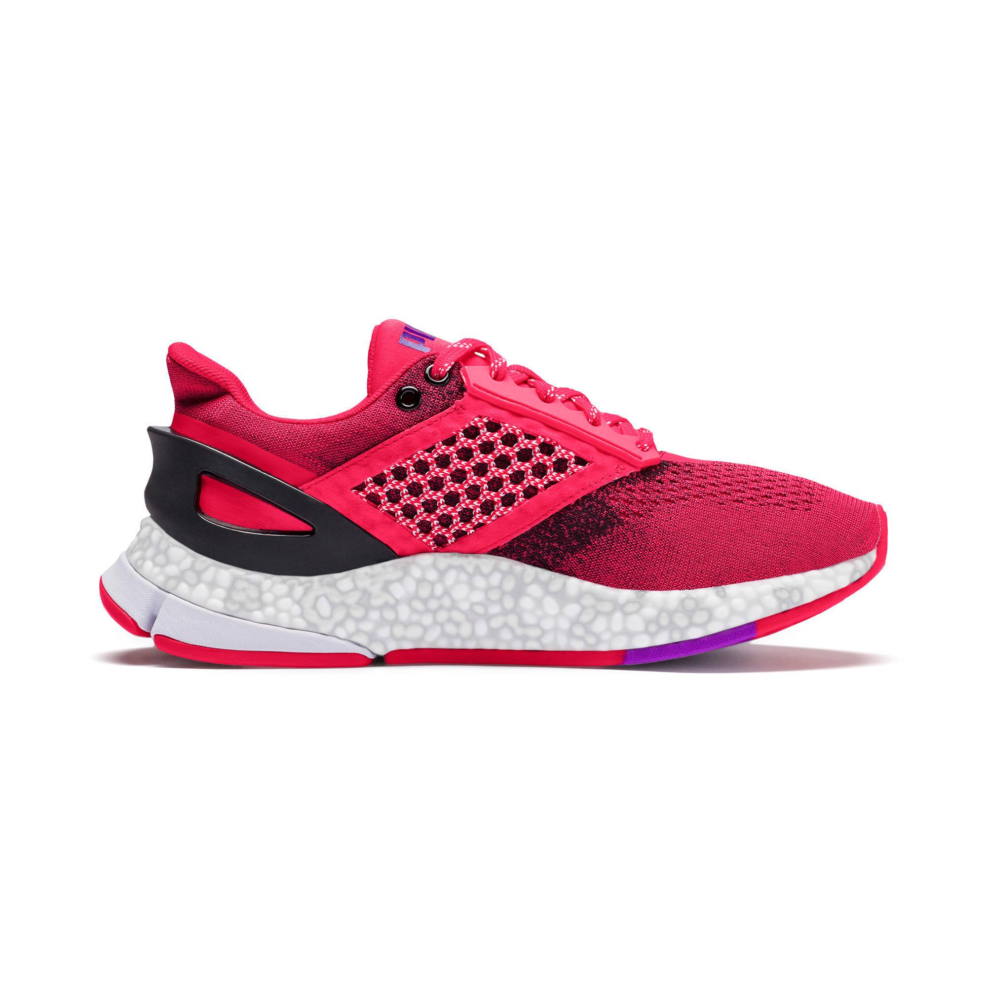 Thumbnail 8 of HYBRID NETFIT Astro Women's Running Shoes, Nrgy Rose-Puma Black, medium