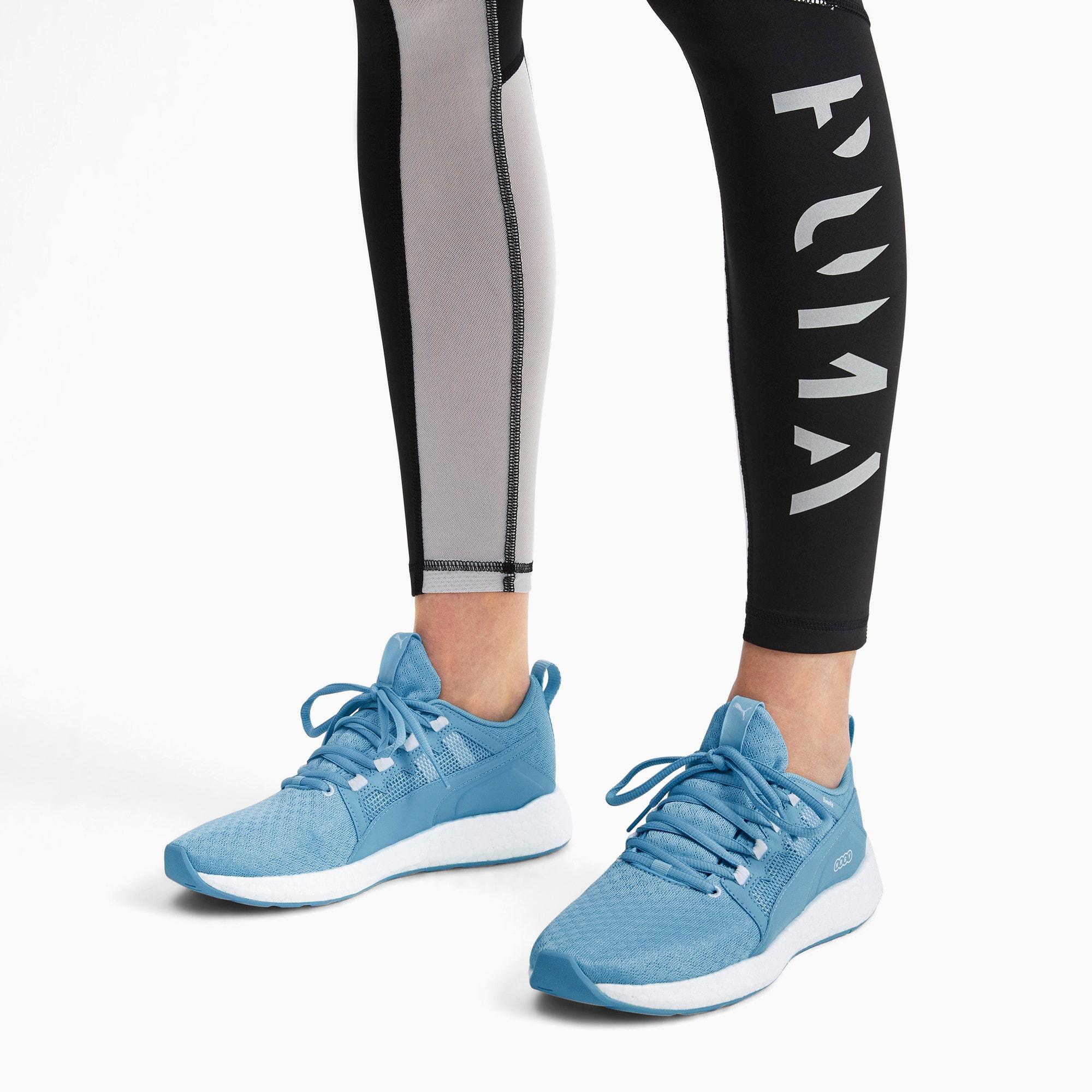 Thumbnail 2 of NRGY Neko Turbo Women's Trainers, Milky Blue-Puma White, medium-IND