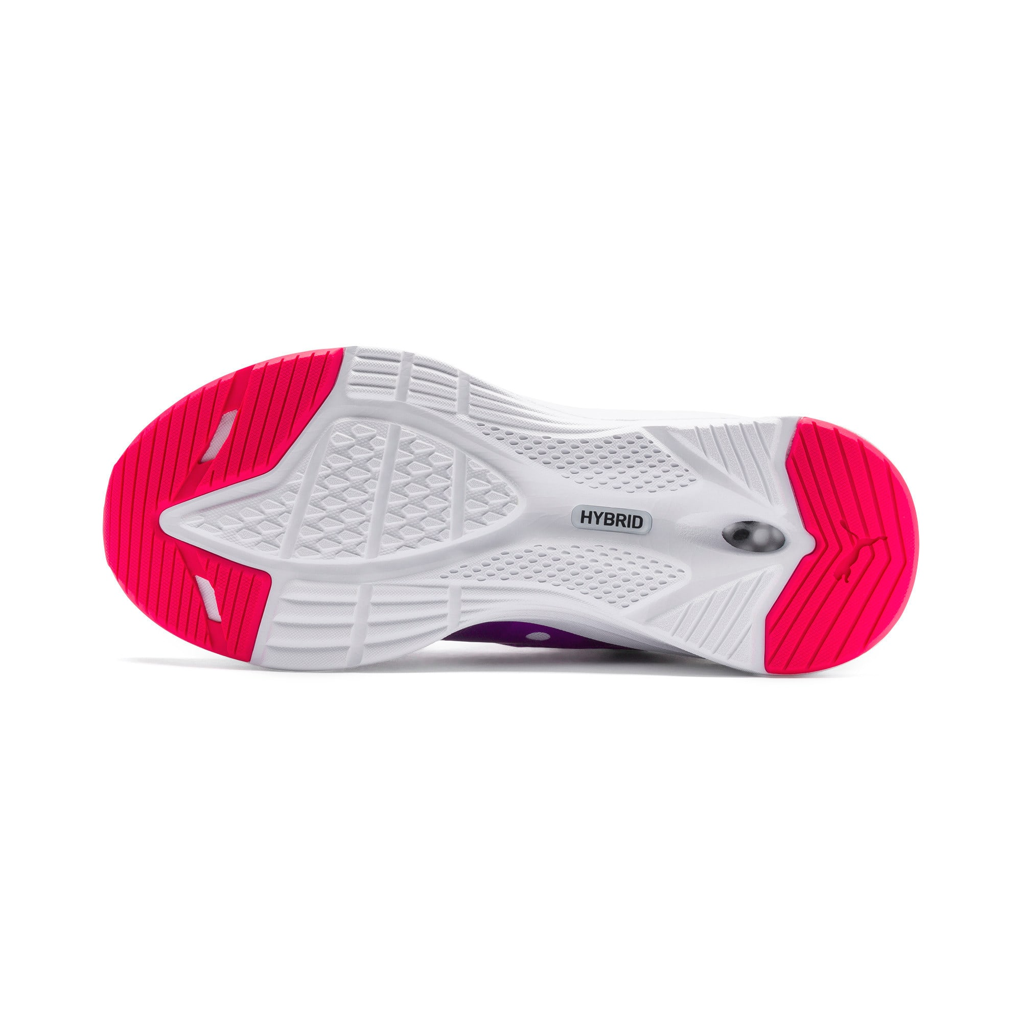 Thumbnail 4 of HYBRID Fuego Youth Trainers, Puma White-Royal Lilac, medium-IND