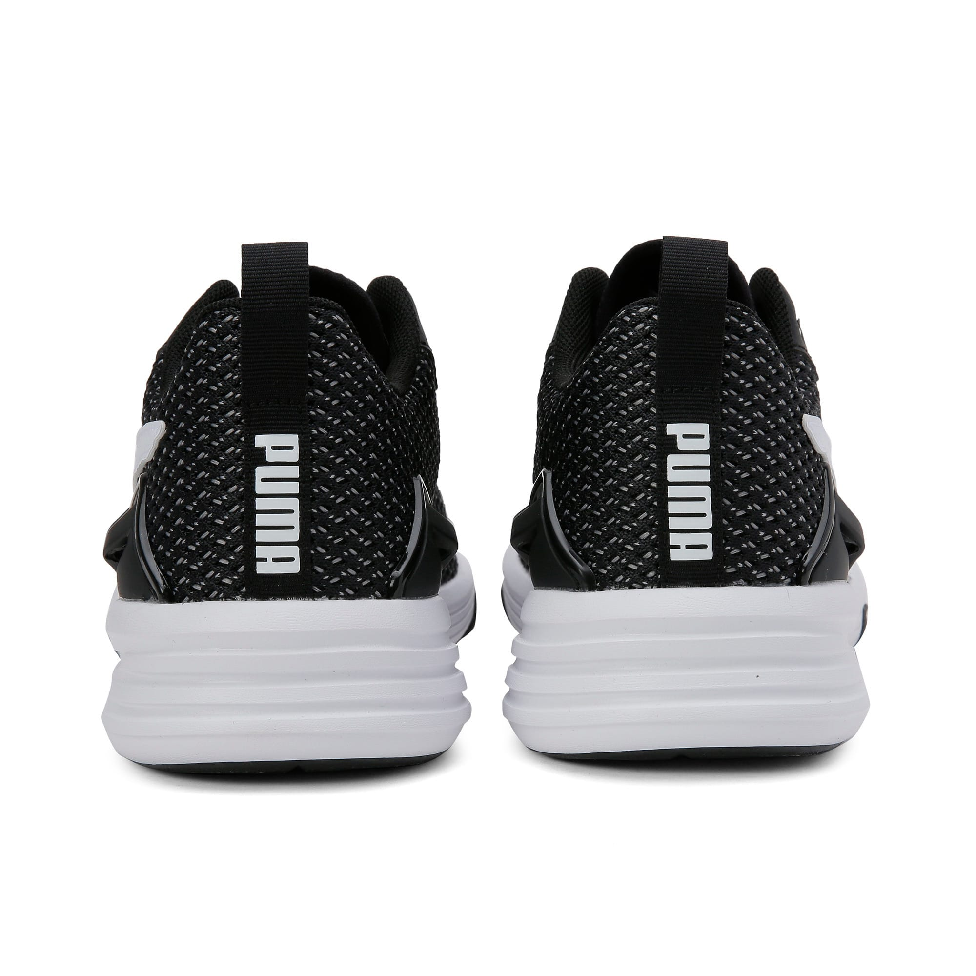 Thumbnail 5 of Aura XT Men's Trainers, Puma Black-Puma White, medium-IND