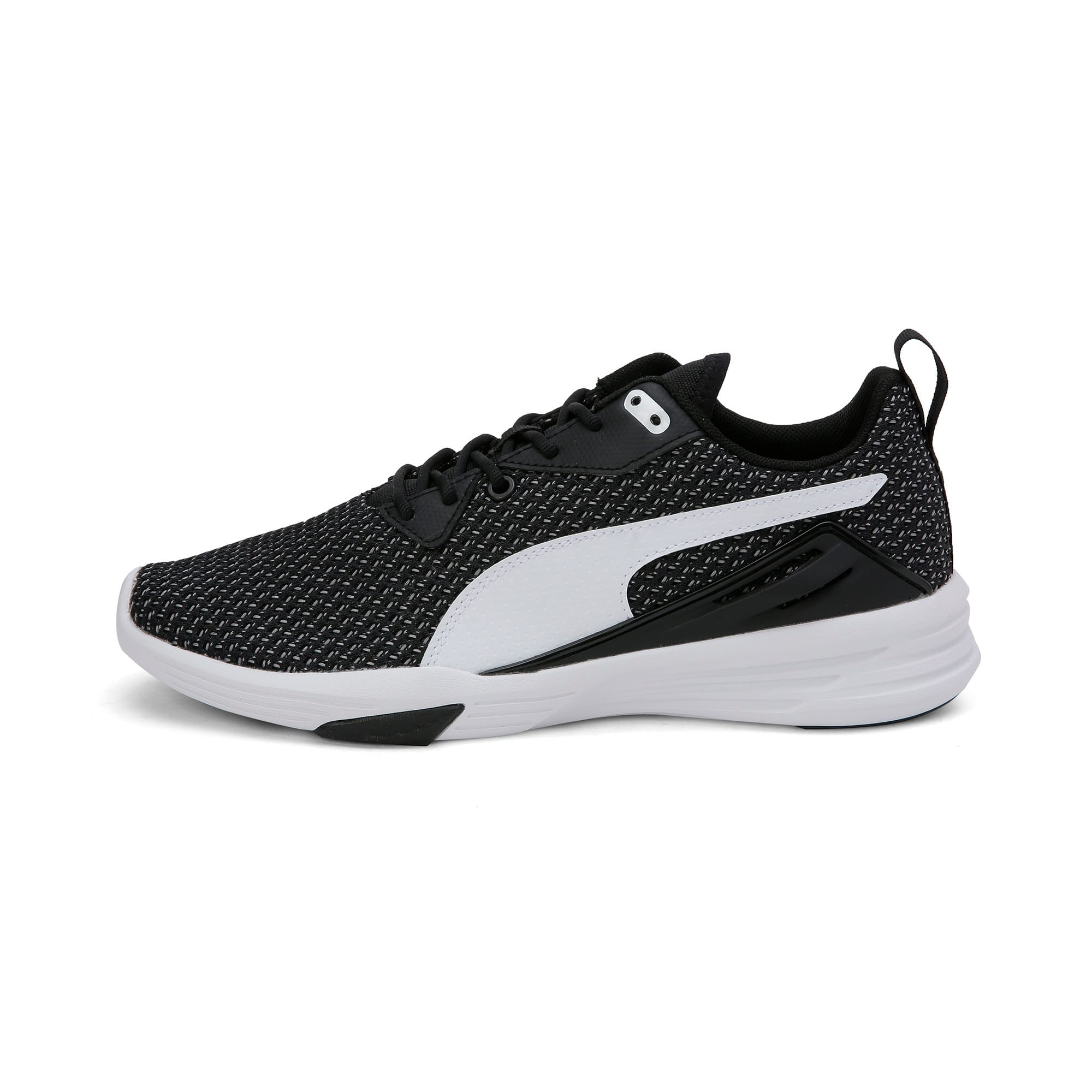 Thumbnail 1 of Aura XT Men's Trainers, Puma Black-Puma White, medium-IND