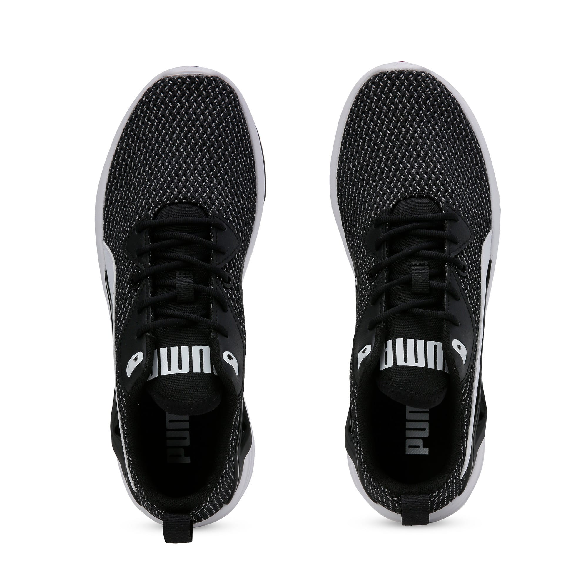 Thumbnail 8 of Aura XT Men's Trainers, Puma Black-Puma White, medium-IND