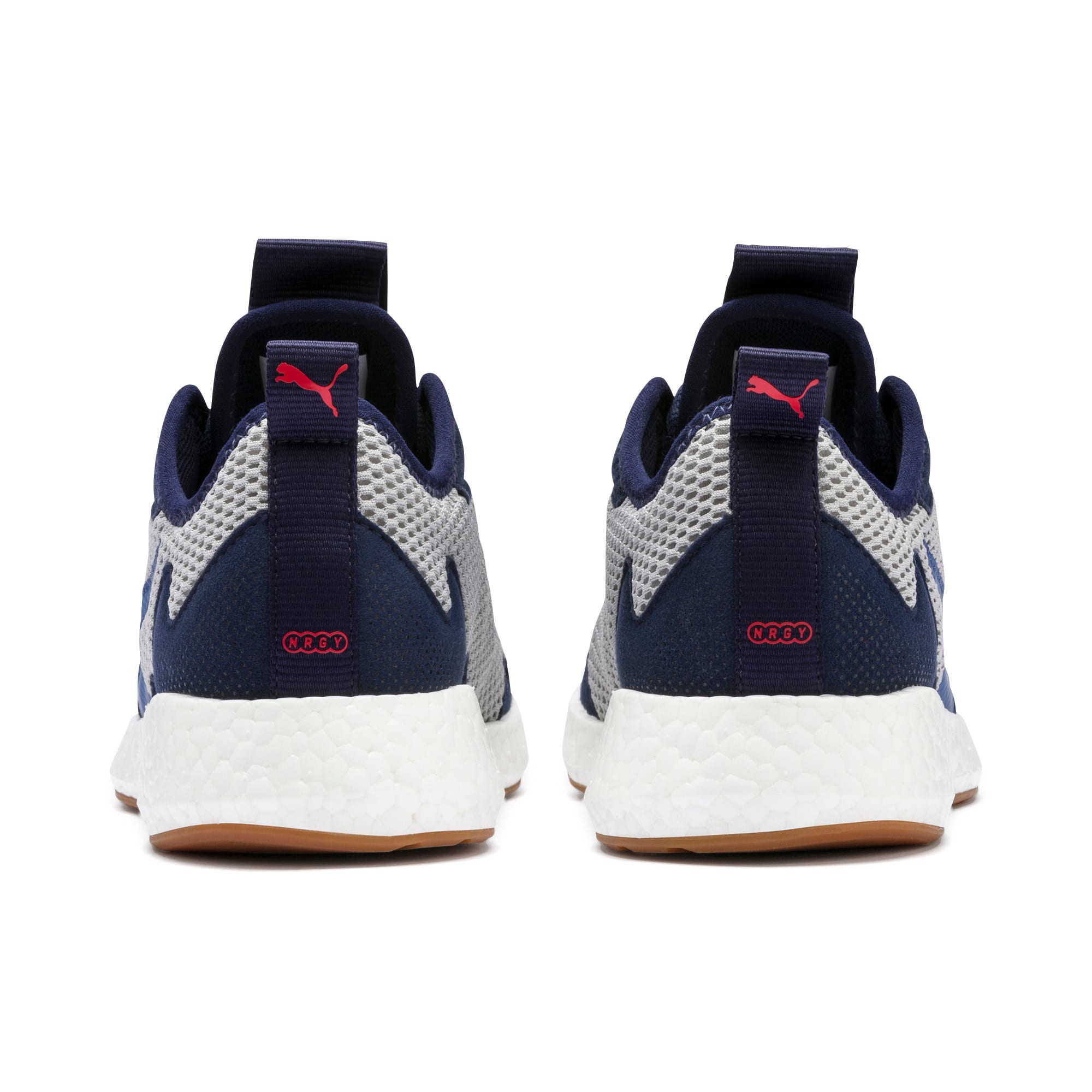 Thumbnail 3 of NRGY Neko Skim Youth Trainers, Peacoat-H Rise-Blue-Red-Wht, medium