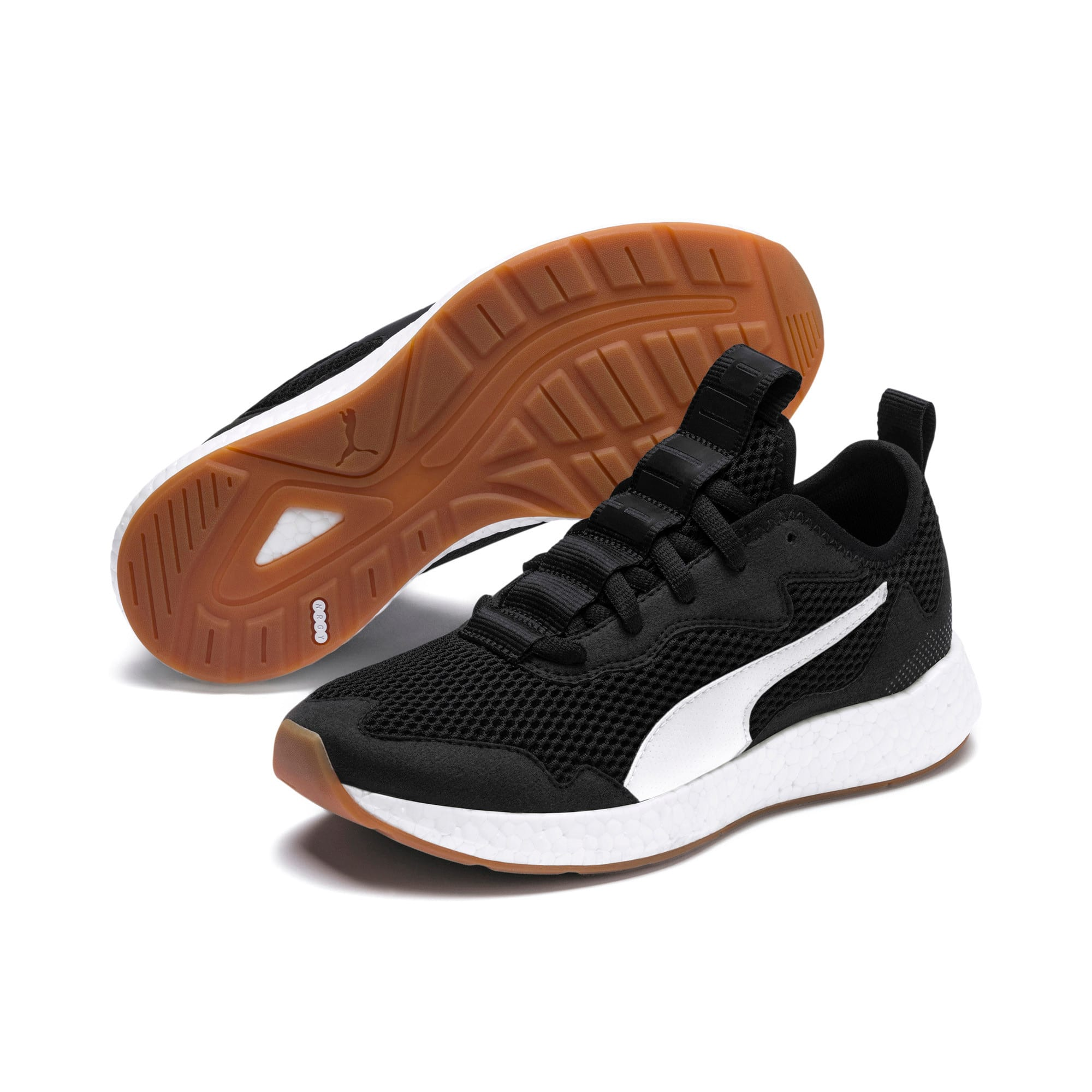 Thumbnail 2 of Chaussure de course NRGY Neko Skim Youth, Puma Black-Puma White, medium