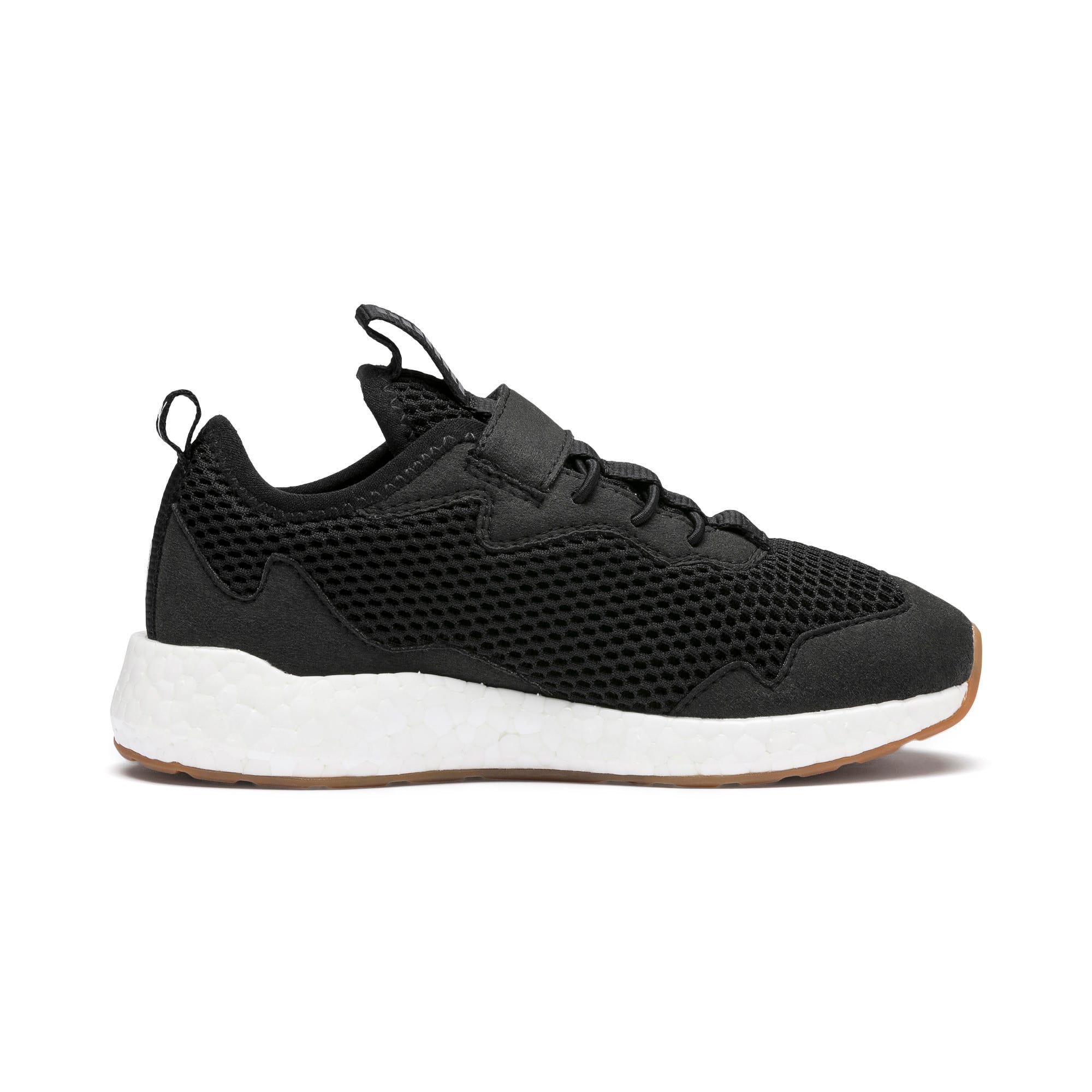 Thumbnail 5 of NRGY Neko Skim AC Kids' Trainers, Puma Black-Puma White, medium