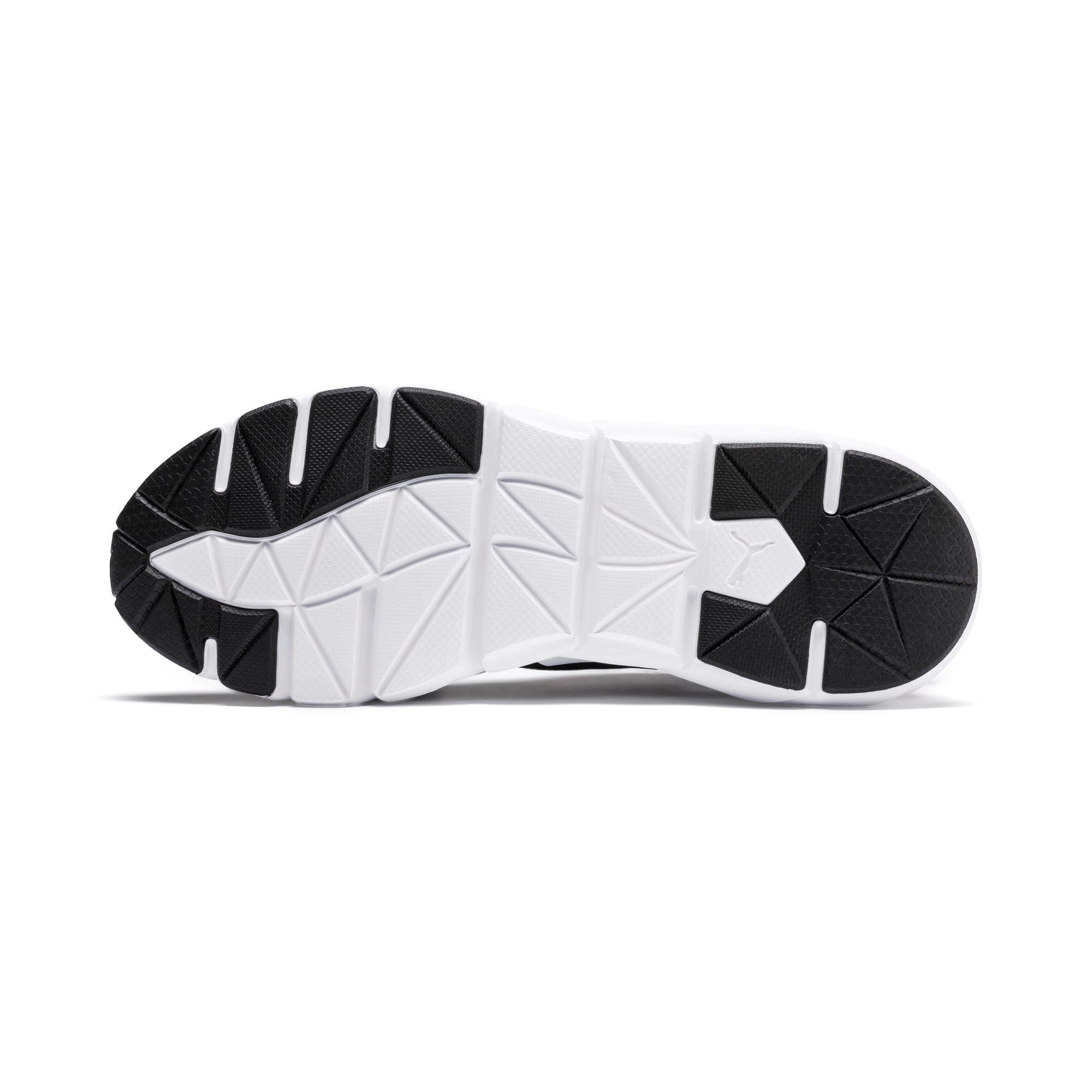 Thumbnail 4 of Weave XT Youth Trainers, Black-White-Calypso Coral, medium-IND