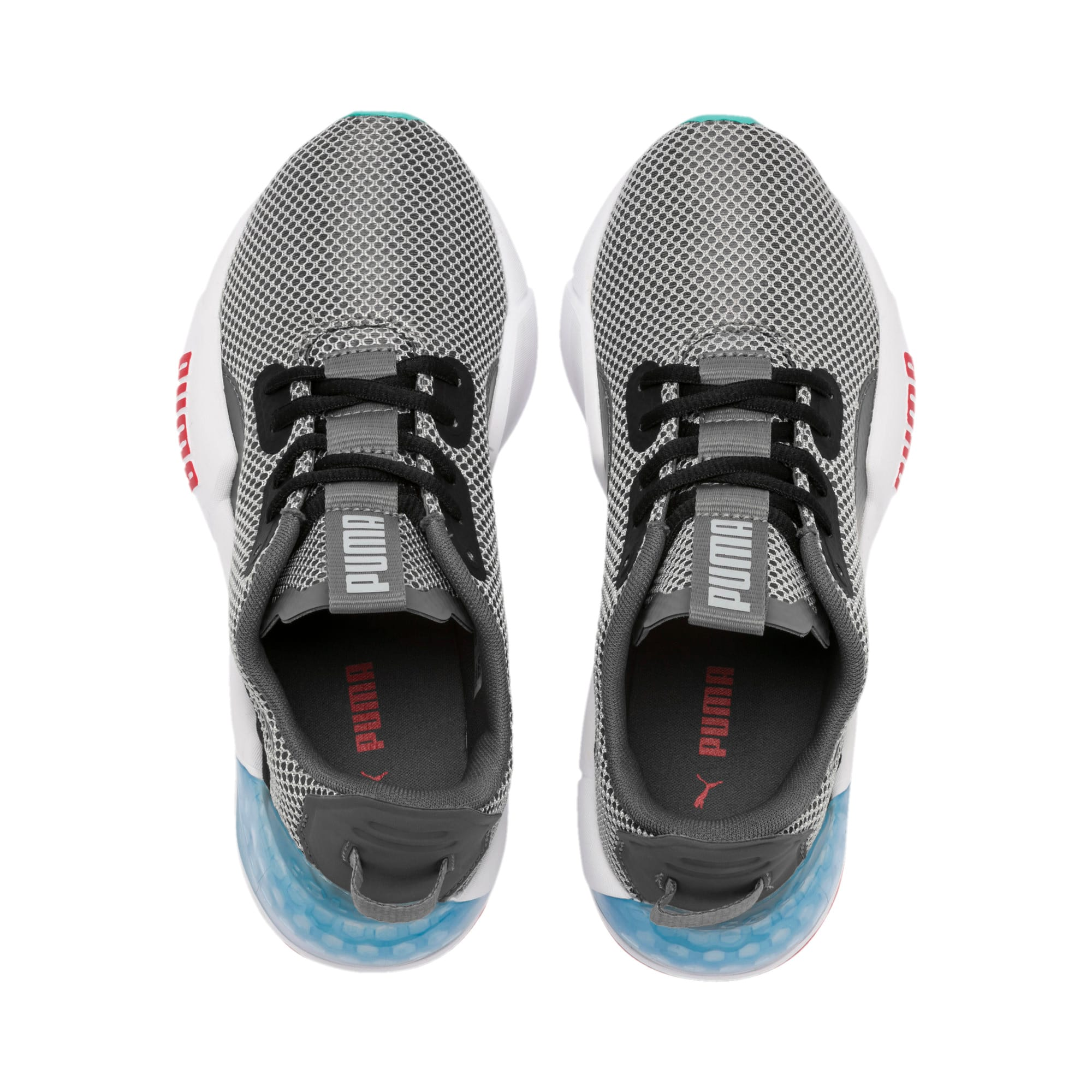 Thumbnail 6 of CELL Phase Youth Trainers, CASTLEROCK-Puma Black, medium-IND