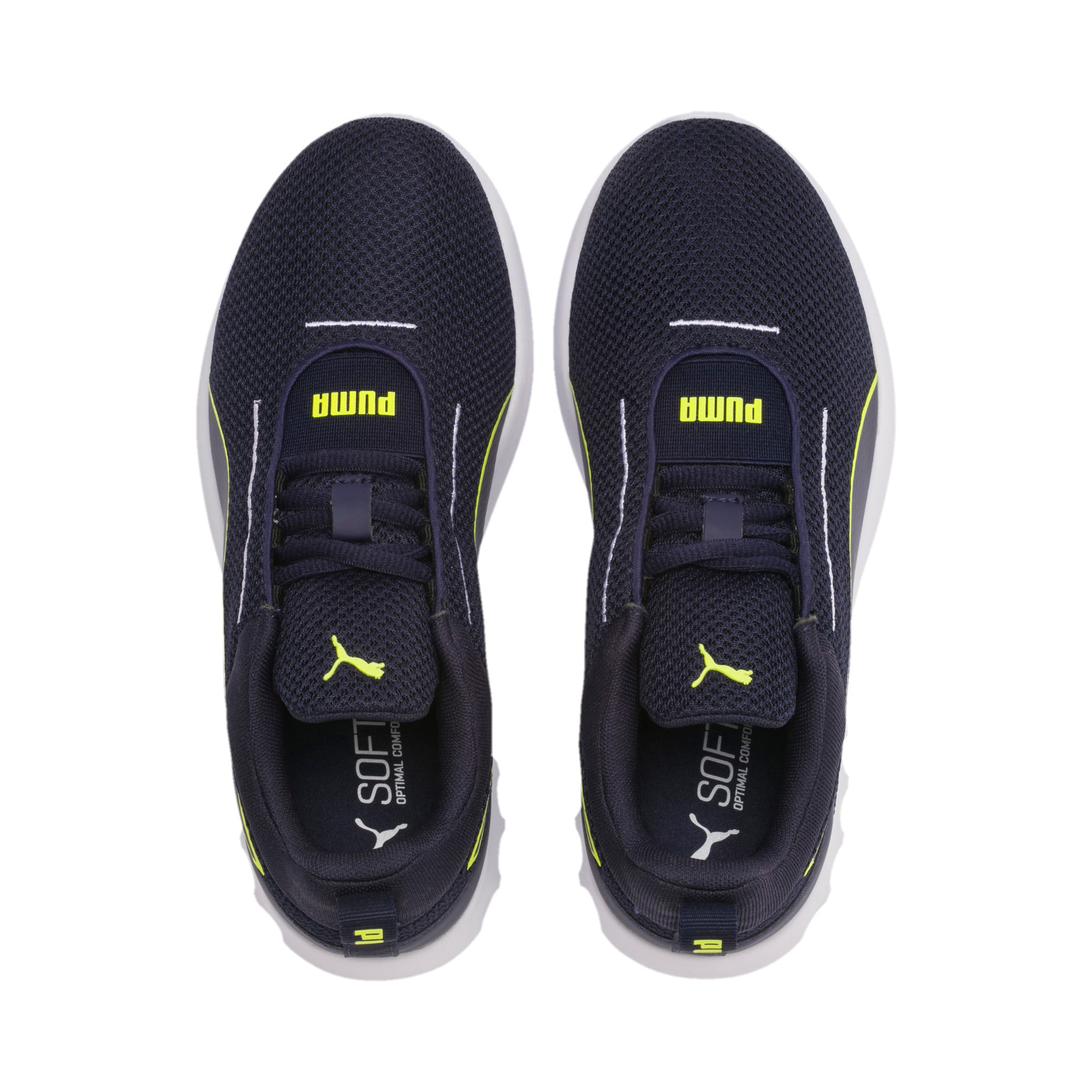 Thumbnail 6 of Carson 2 Concave Youth Trainers, Puma Black-Peacoat, medium