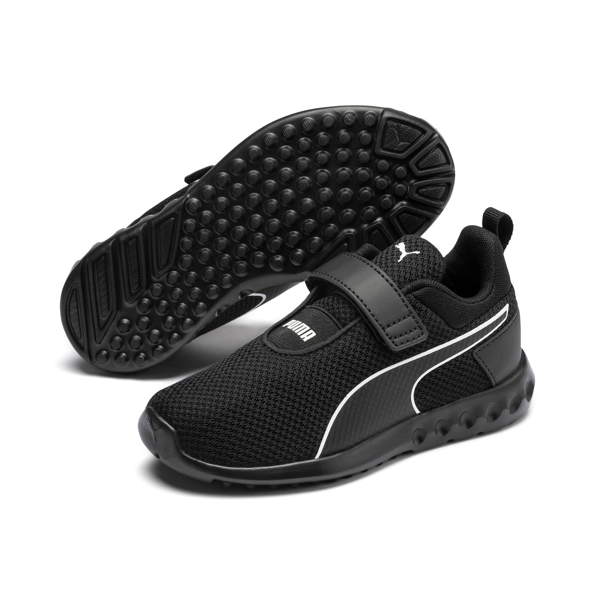 Thumbnail 2 of Carson 2 Concave Kids Sneaker, Puma Black, medium