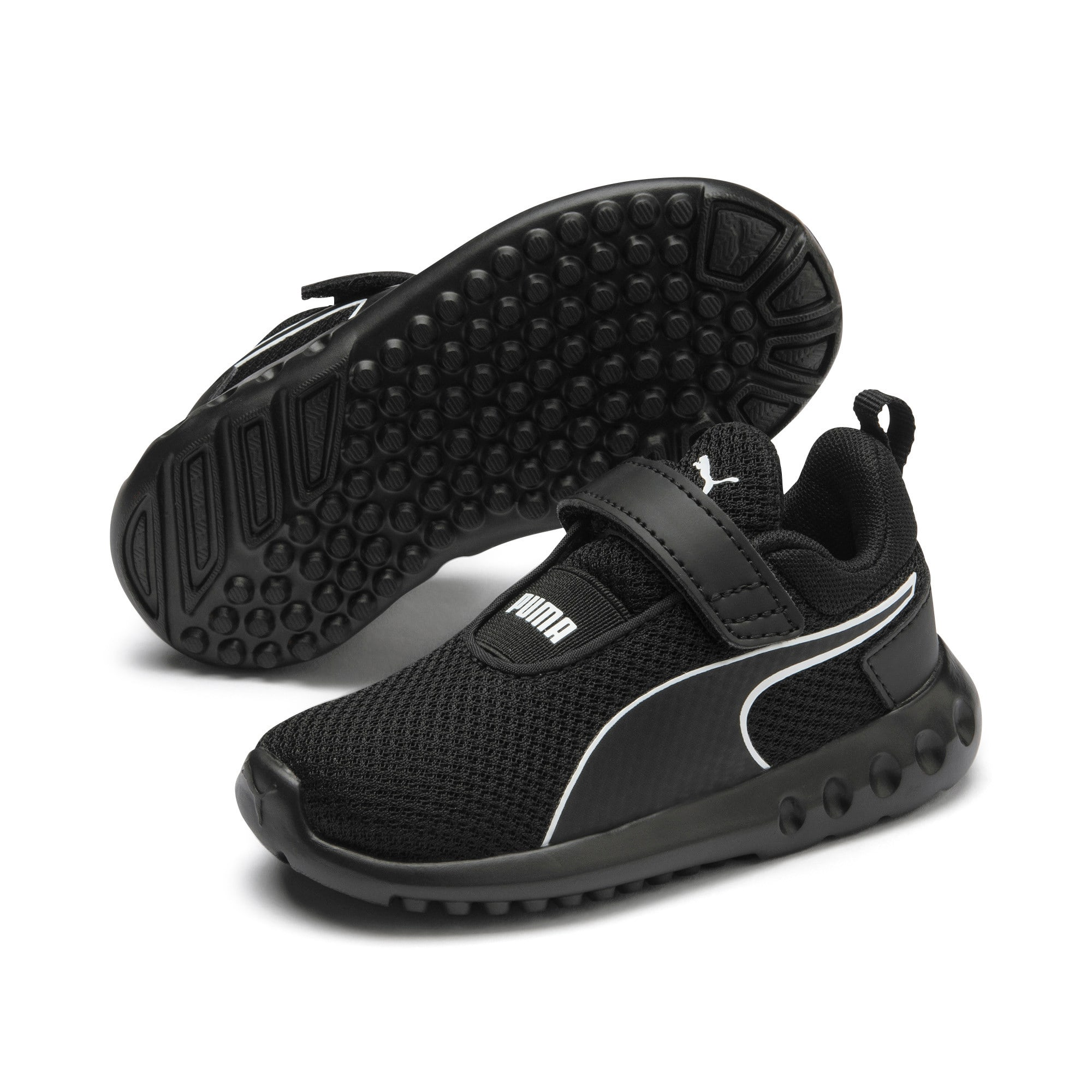 Thumbnail 2 of Carson 2 Concave V Babies' Trainers, Puma Black, medium
