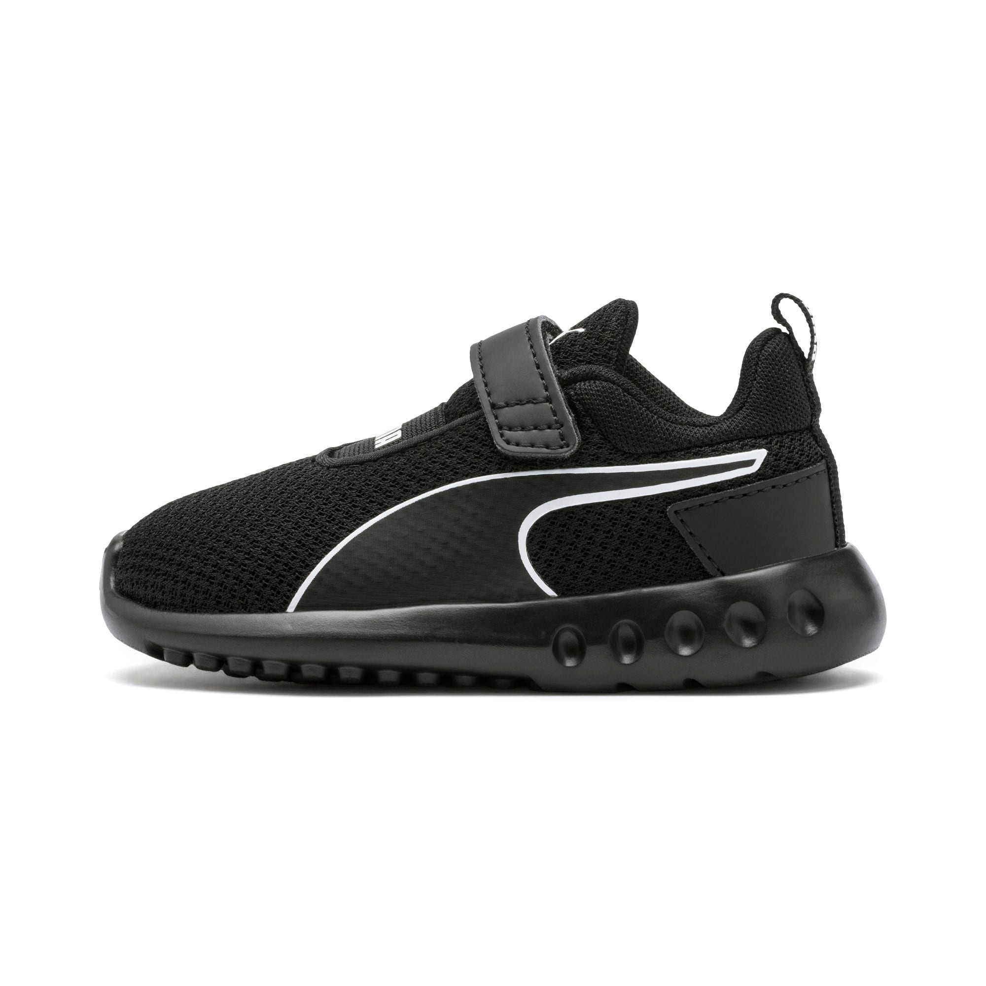 Thumbnail 1 of Carson 2 Concave V Babies' Trainers, Puma Black, medium