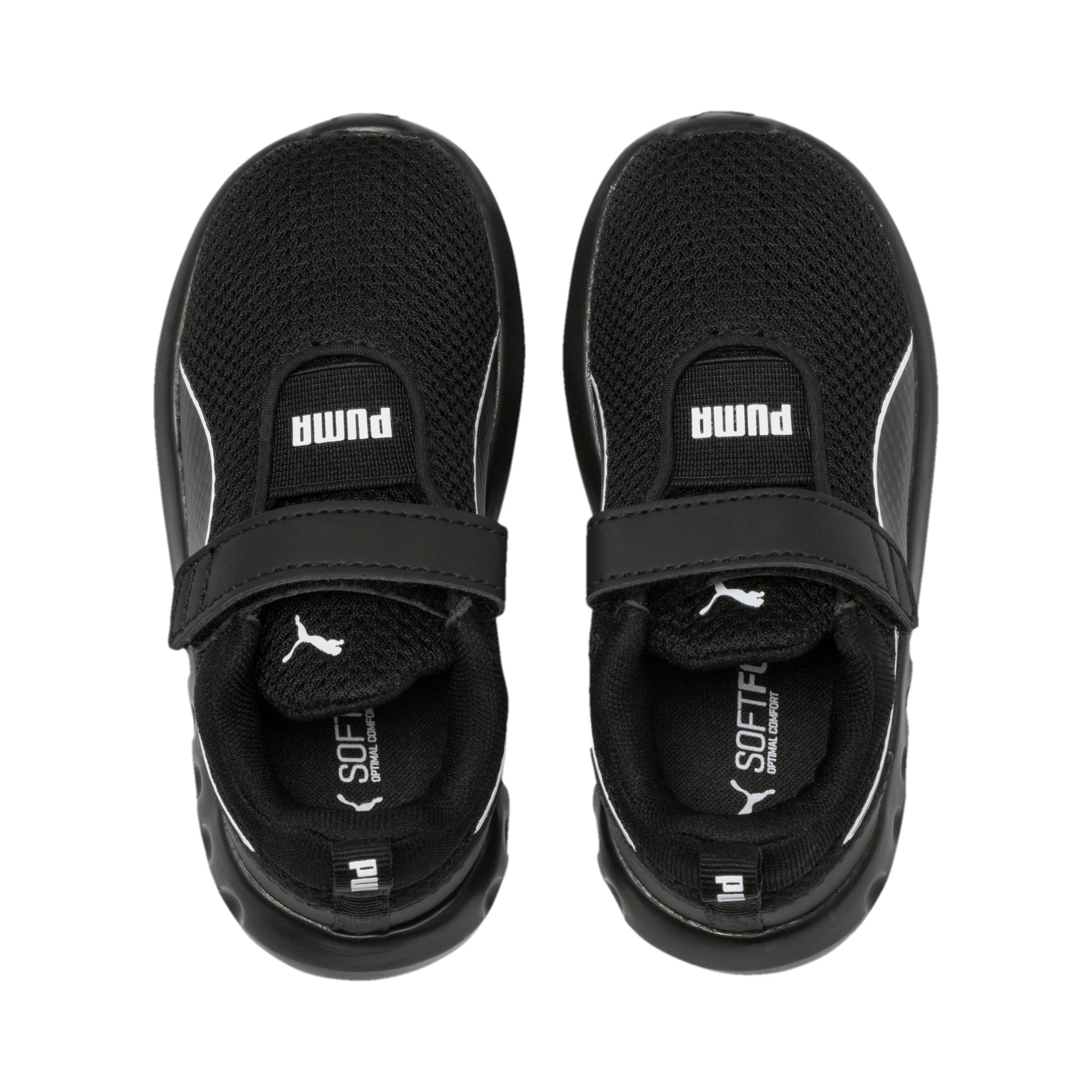 Thumbnail 6 of Carson 2 Concave V Babies' Trainers, Puma Black, medium