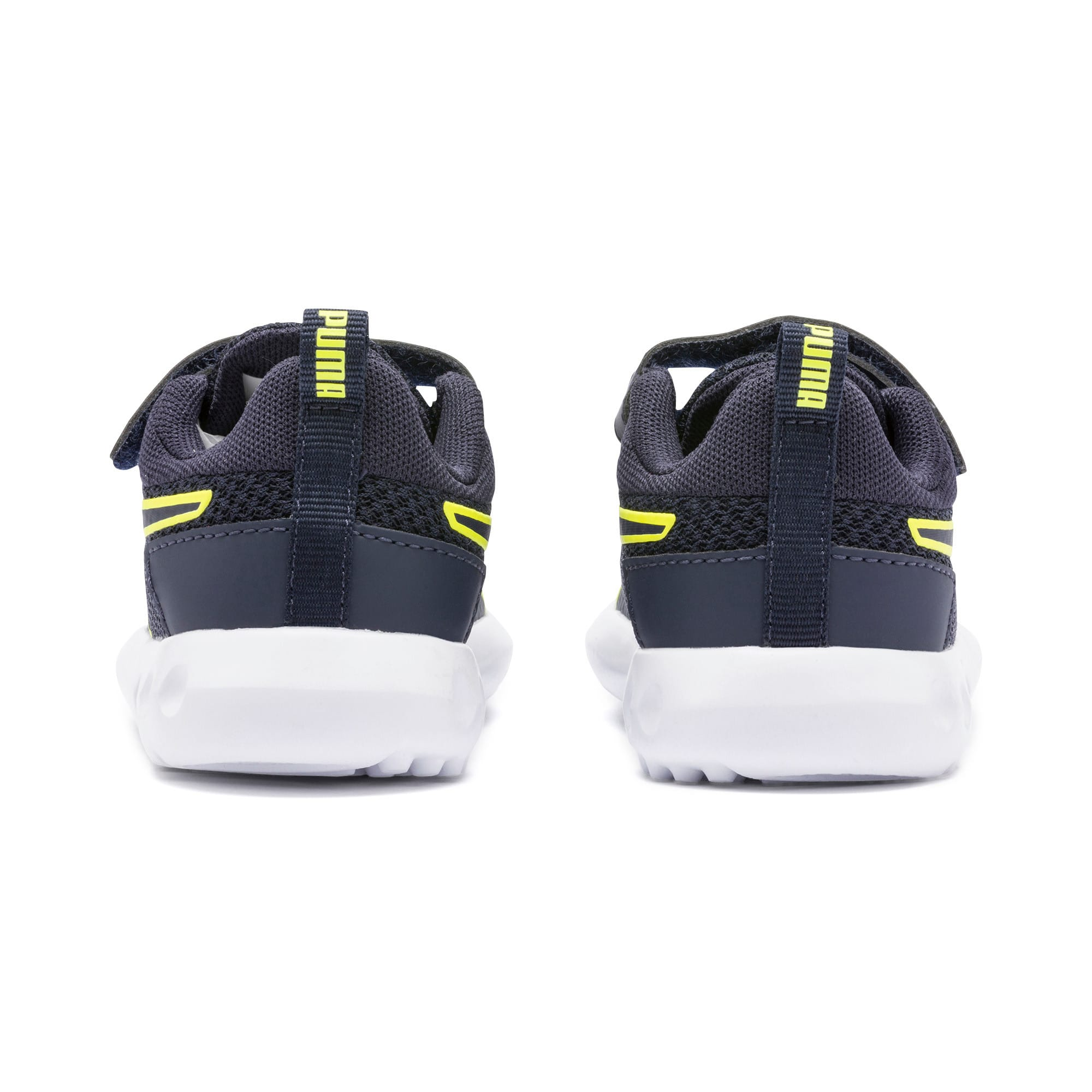Carson 2 Concave V Babies' Trainers, Puma Black-Peacoat, large